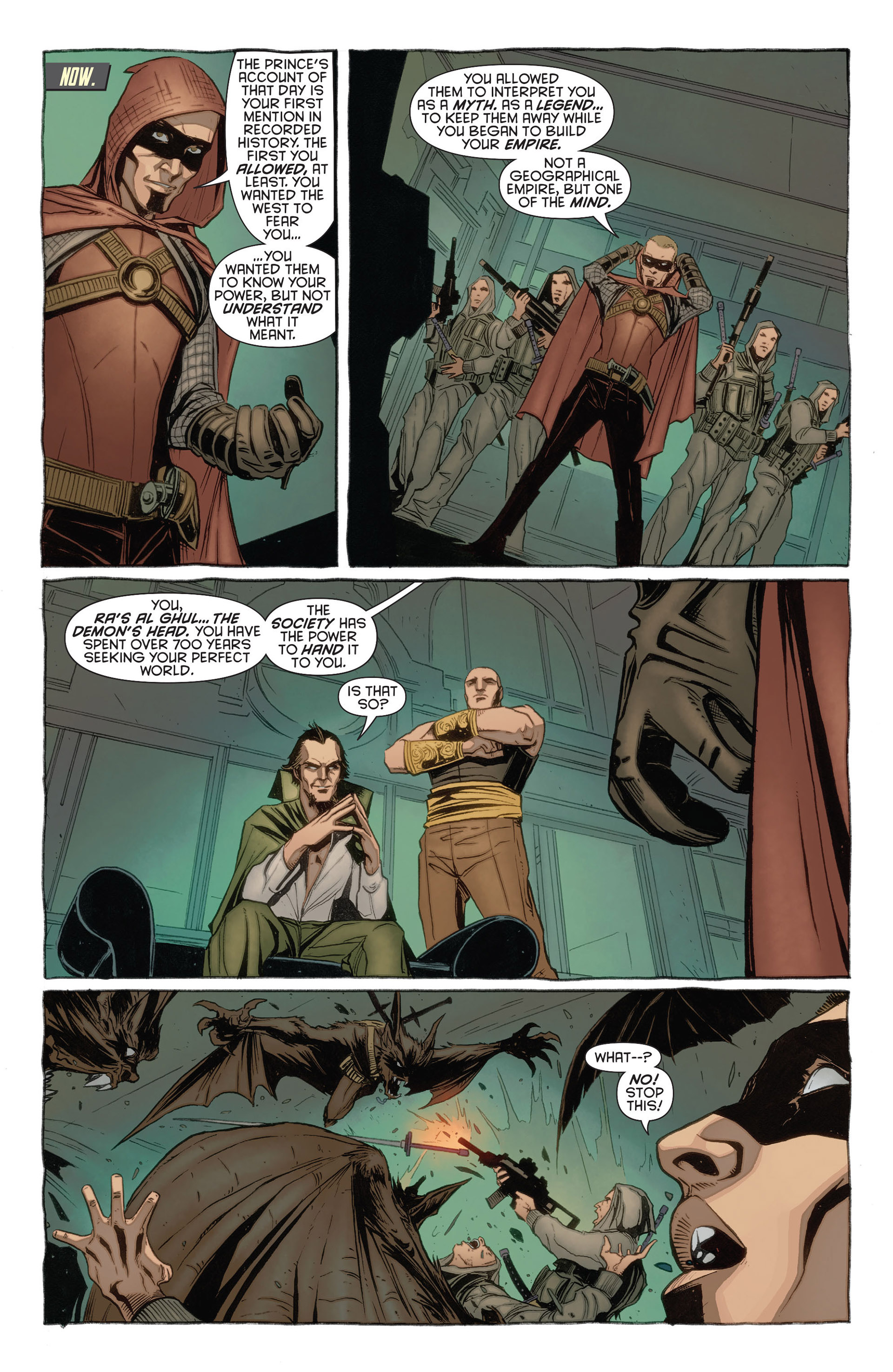 Read online Batman and Robin (2011) comic -  Issue #23.3 - 7