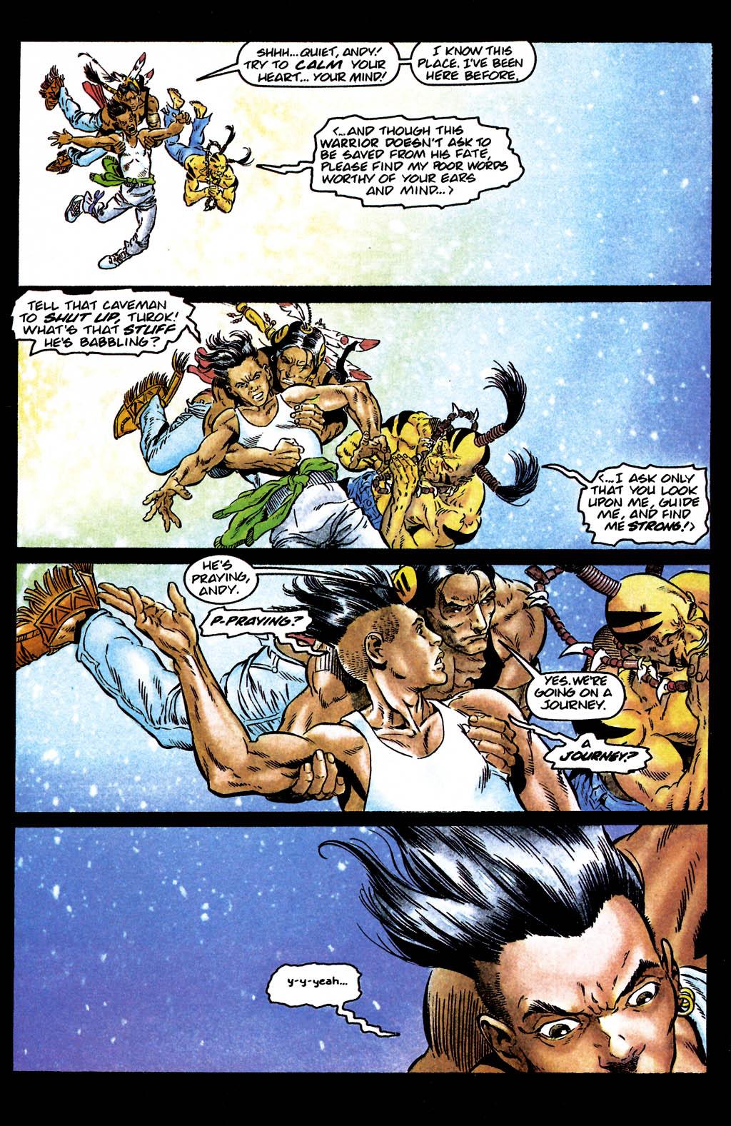 Read online Turok, Dinosaur Hunter (1993) comic -  Issue #24 - 4