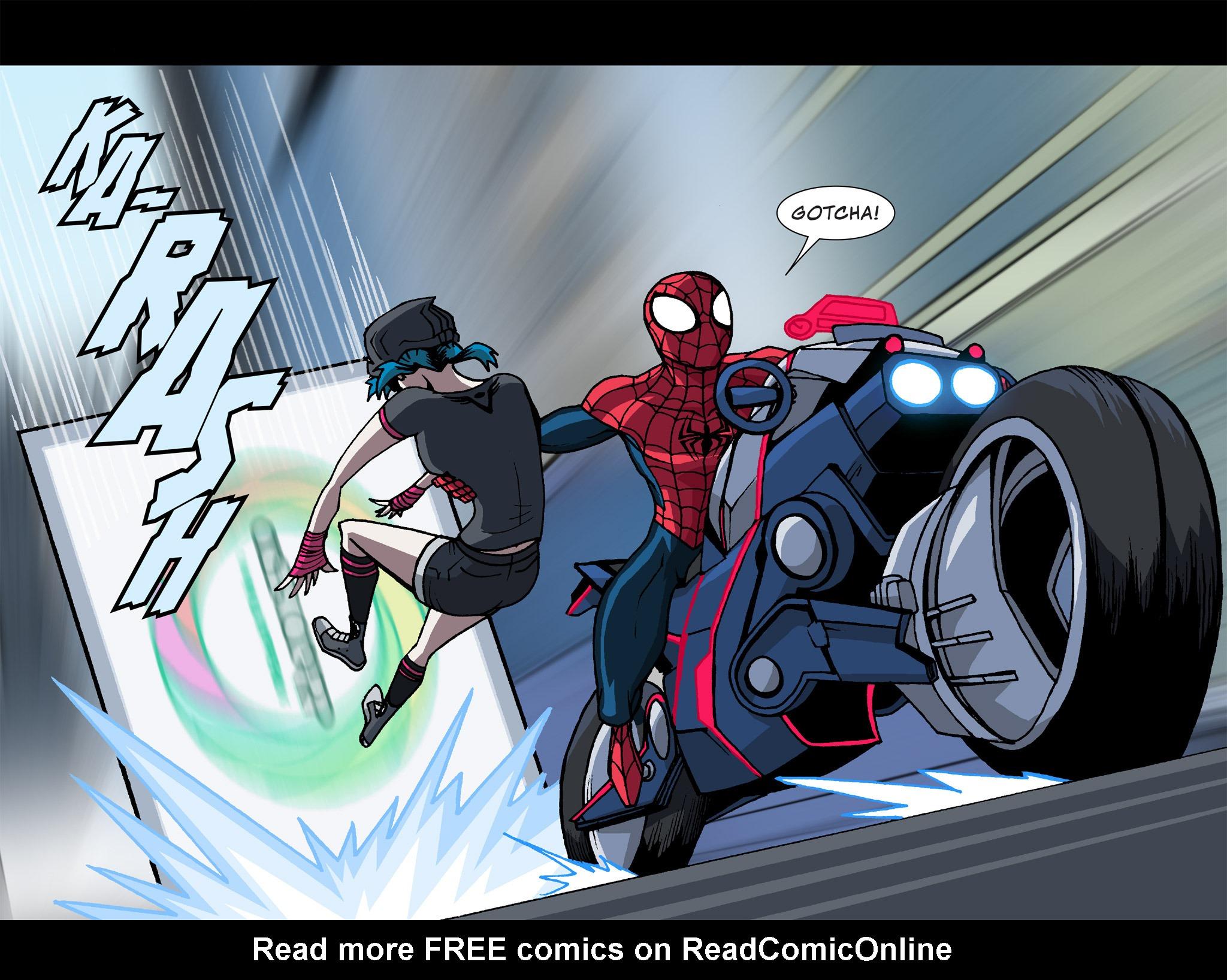 Read online Ultimate Spider-Man (Infinite Comics) (2015) comic -  Issue #12 - 23