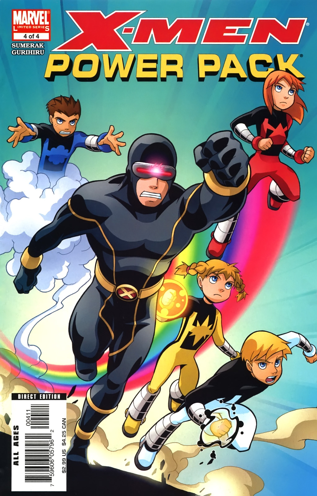 Read online X-Men and Power Pack comic -  Issue #4 - 1
