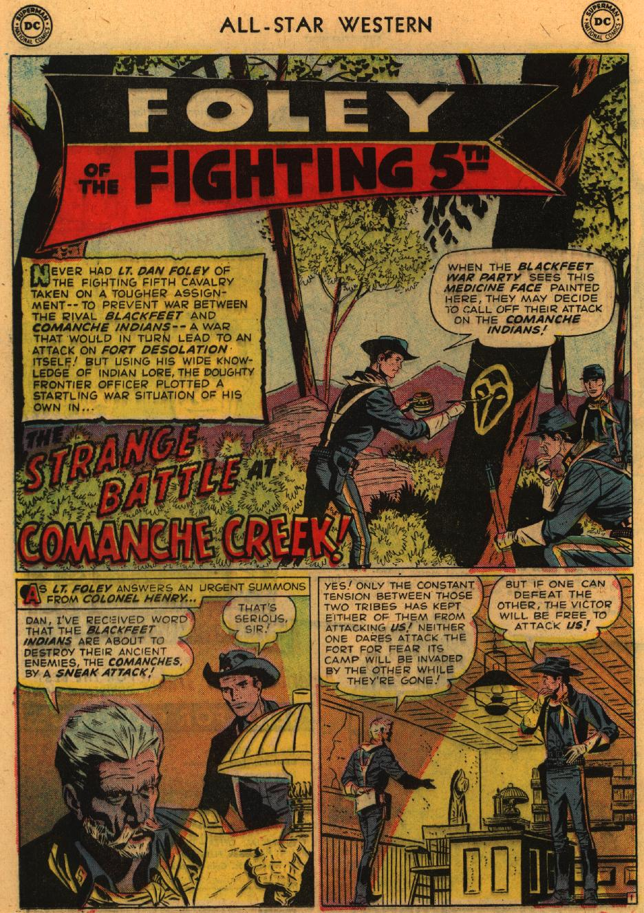 Read online All-Star Western (1951) comic -  Issue #98 - 20