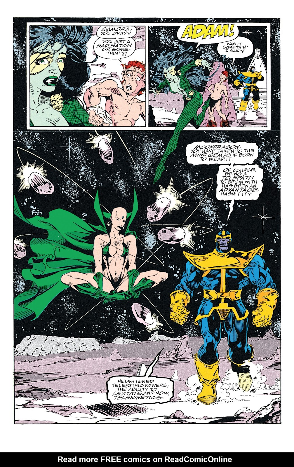 Read online Marvel Tales: Thanos comic -  Issue # Full - 55