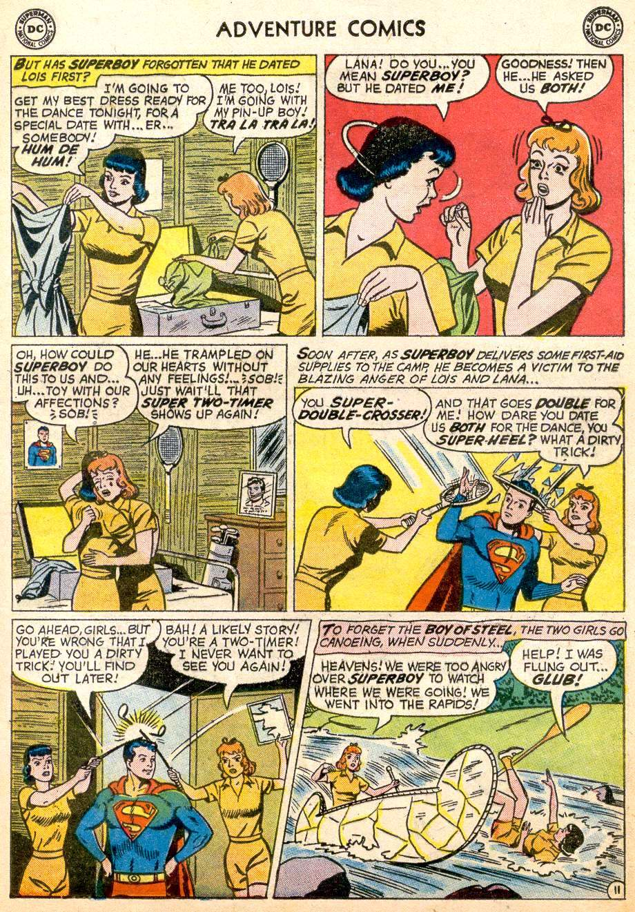 Read online Adventure Comics (1938) comic -  Issue #261 - 13