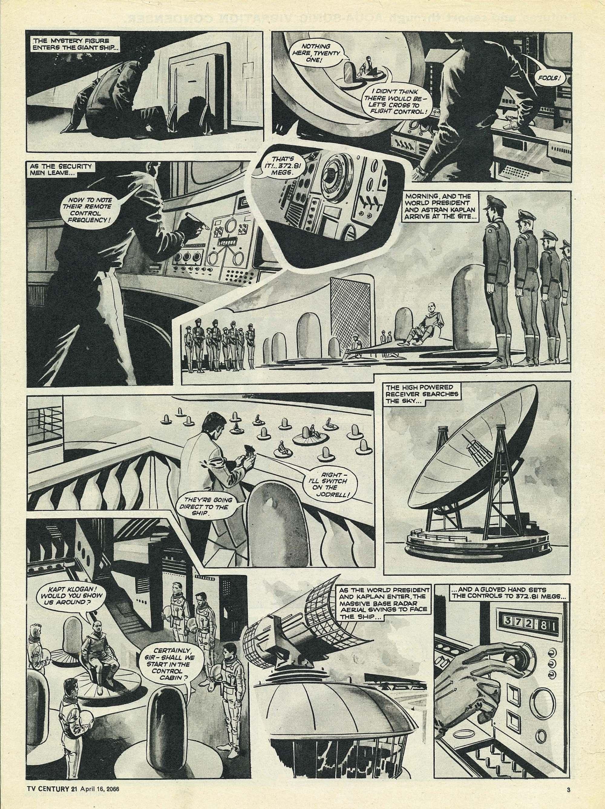 Read online TV Century 21 (TV 21) comic -  Issue #65 - 3