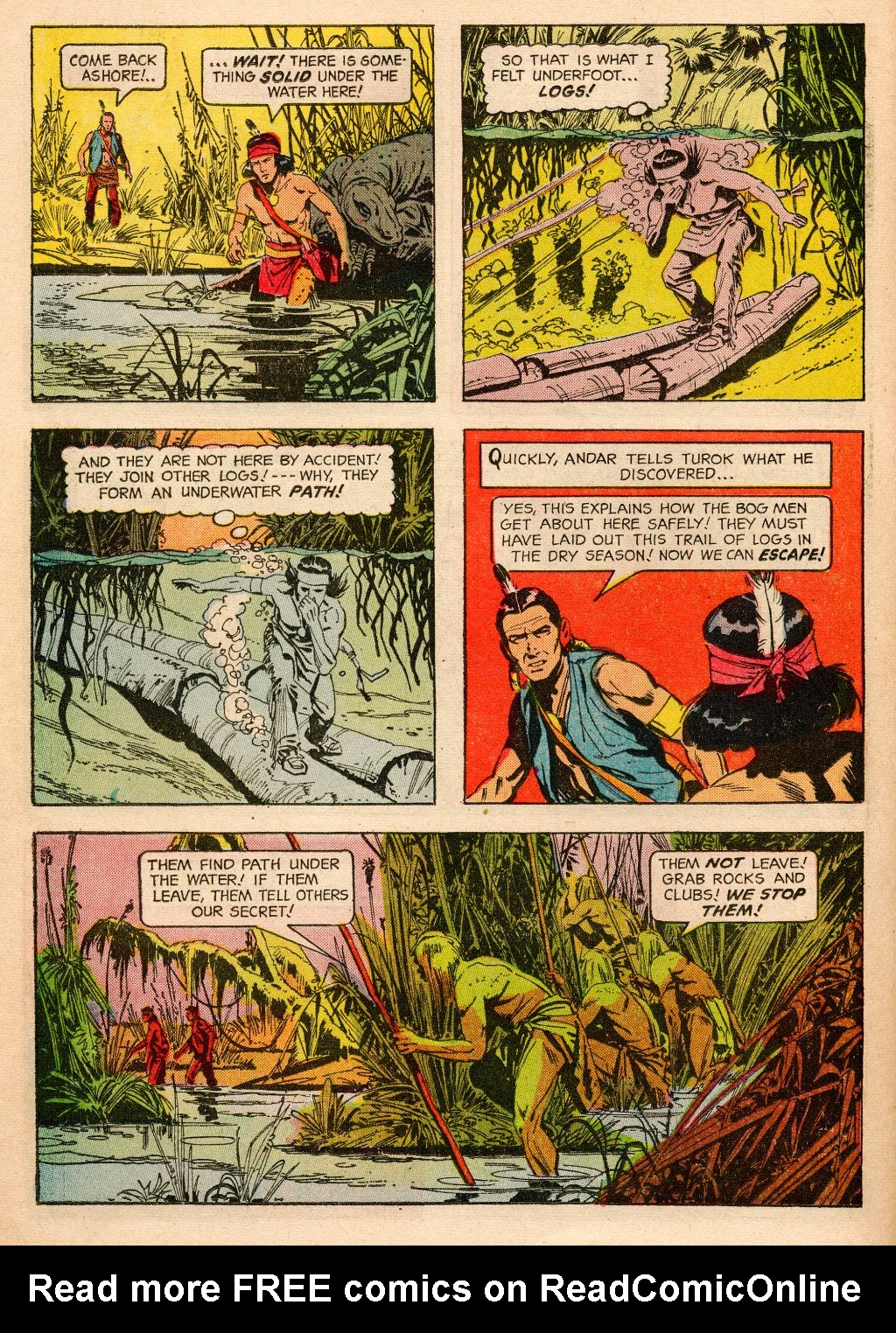 Read online Turok, Son of Stone comic -  Issue #33 - 14