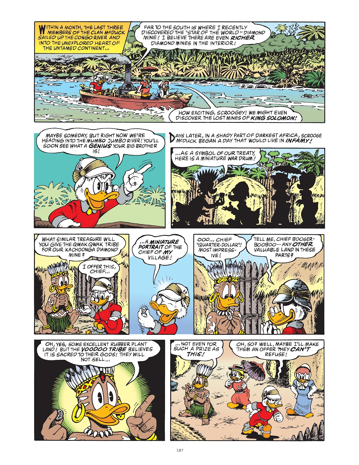 Read online The Complete Life and Times of Scrooge McDuck comic -  Issue # TPB 1 (Part 2) - 82