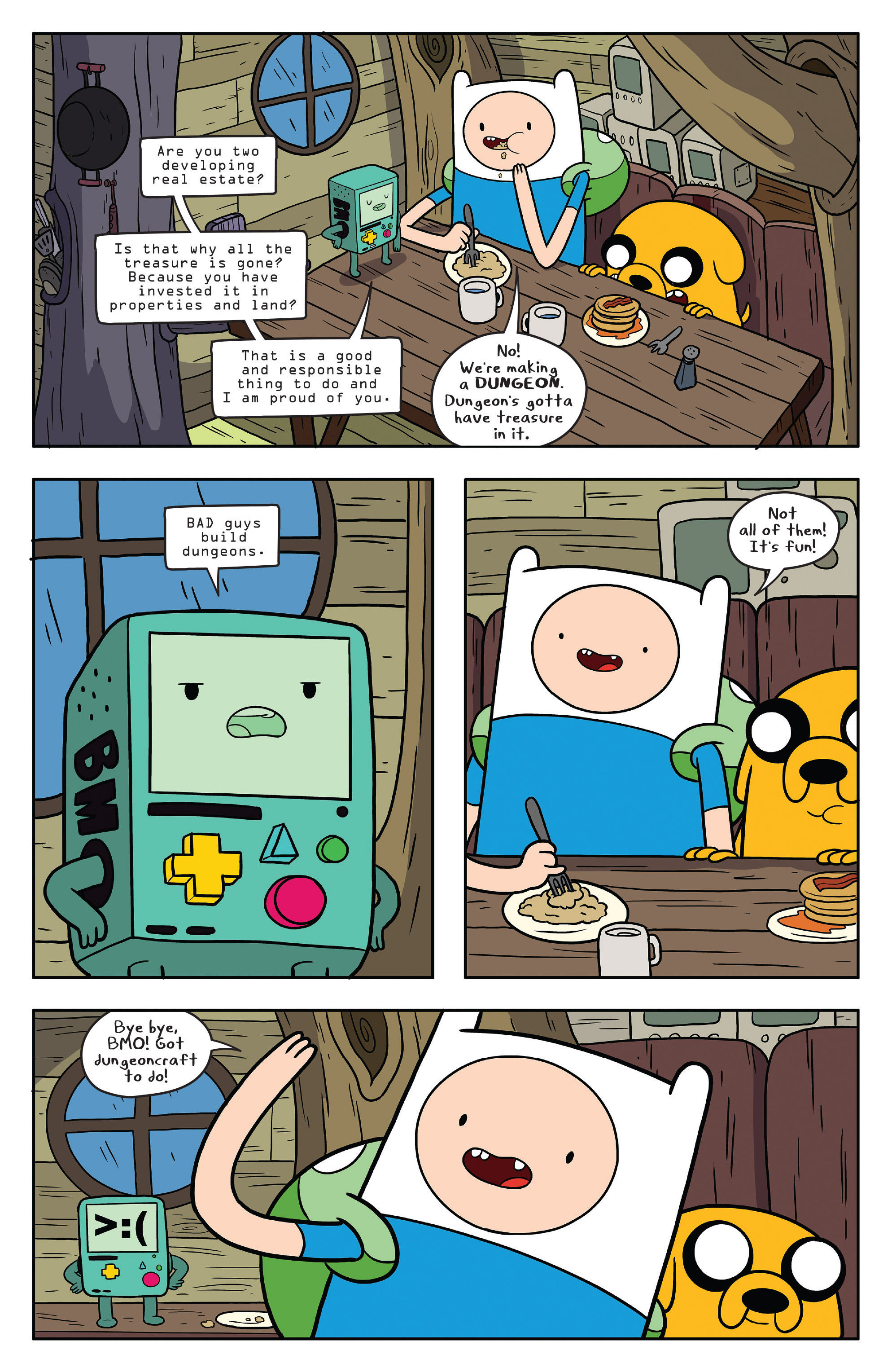 Read online Adventure Time comic -  Issue #58 - 16