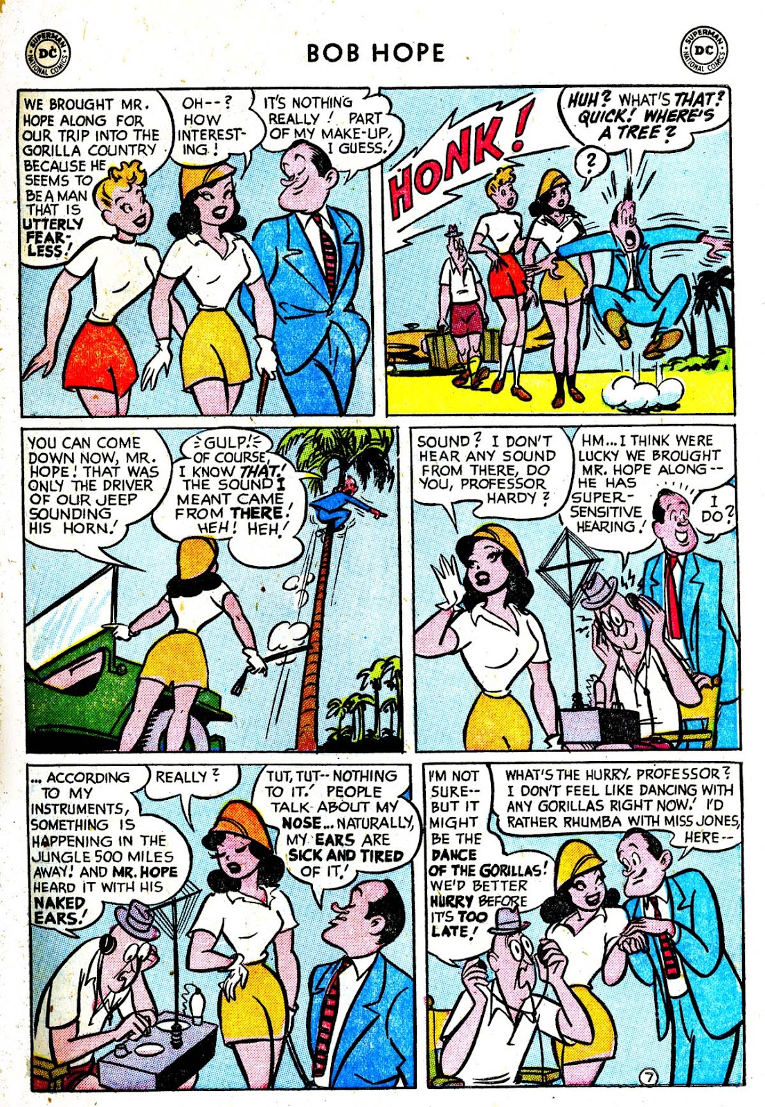 The Adventures of Bob Hope issue 33 - Page 9