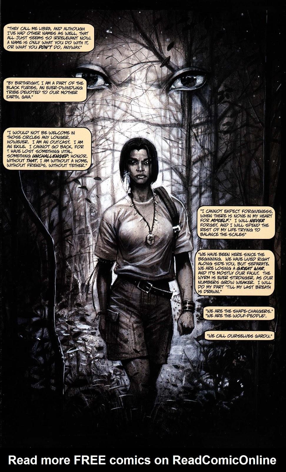 Read online Werewolf the Apocalypse comic -  Issue # Black Furies - 3