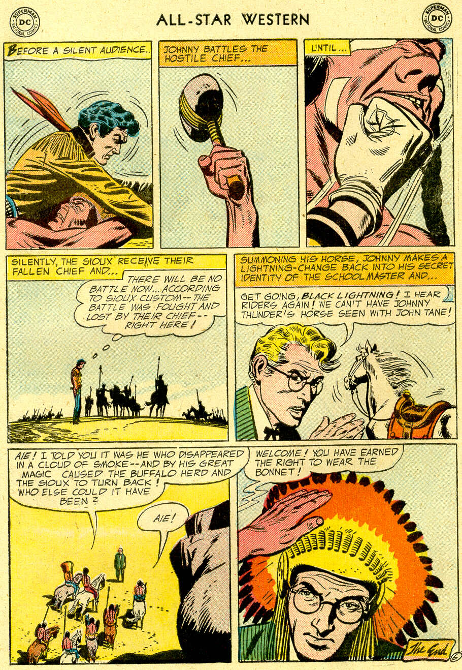Read online All-Star Western (1951) comic -  Issue #83 - 33