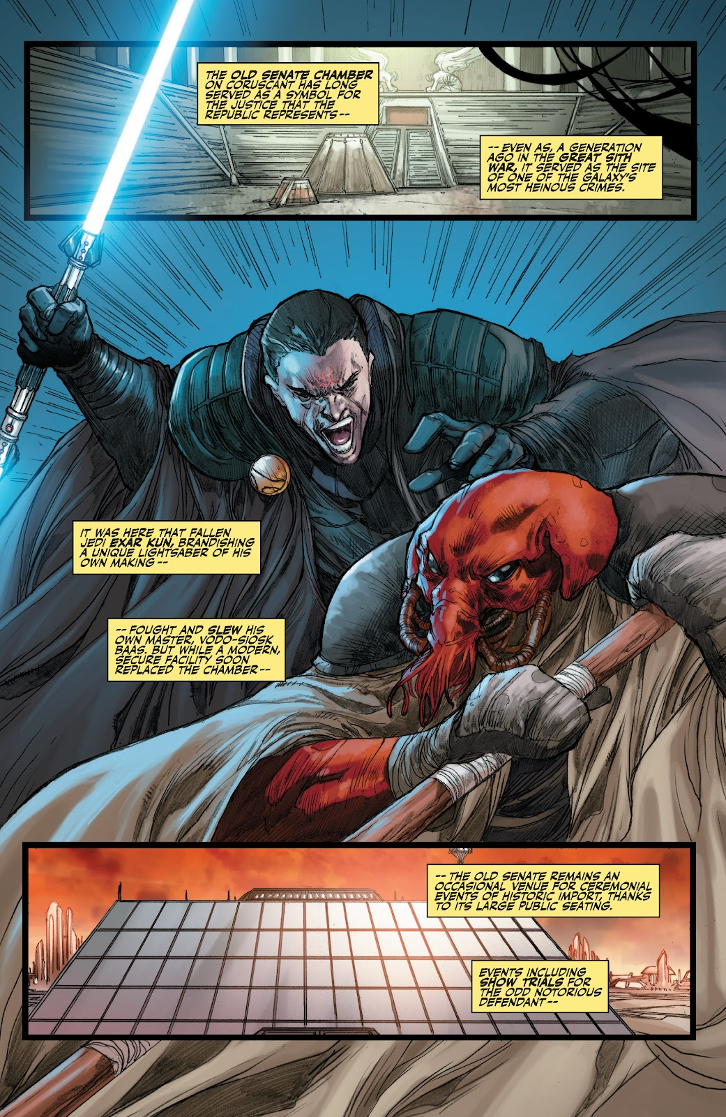Read online Star Wars Legends: The Old Republic - Epic Collection comic -  Issue # TPB 3 (Part 3) - 13