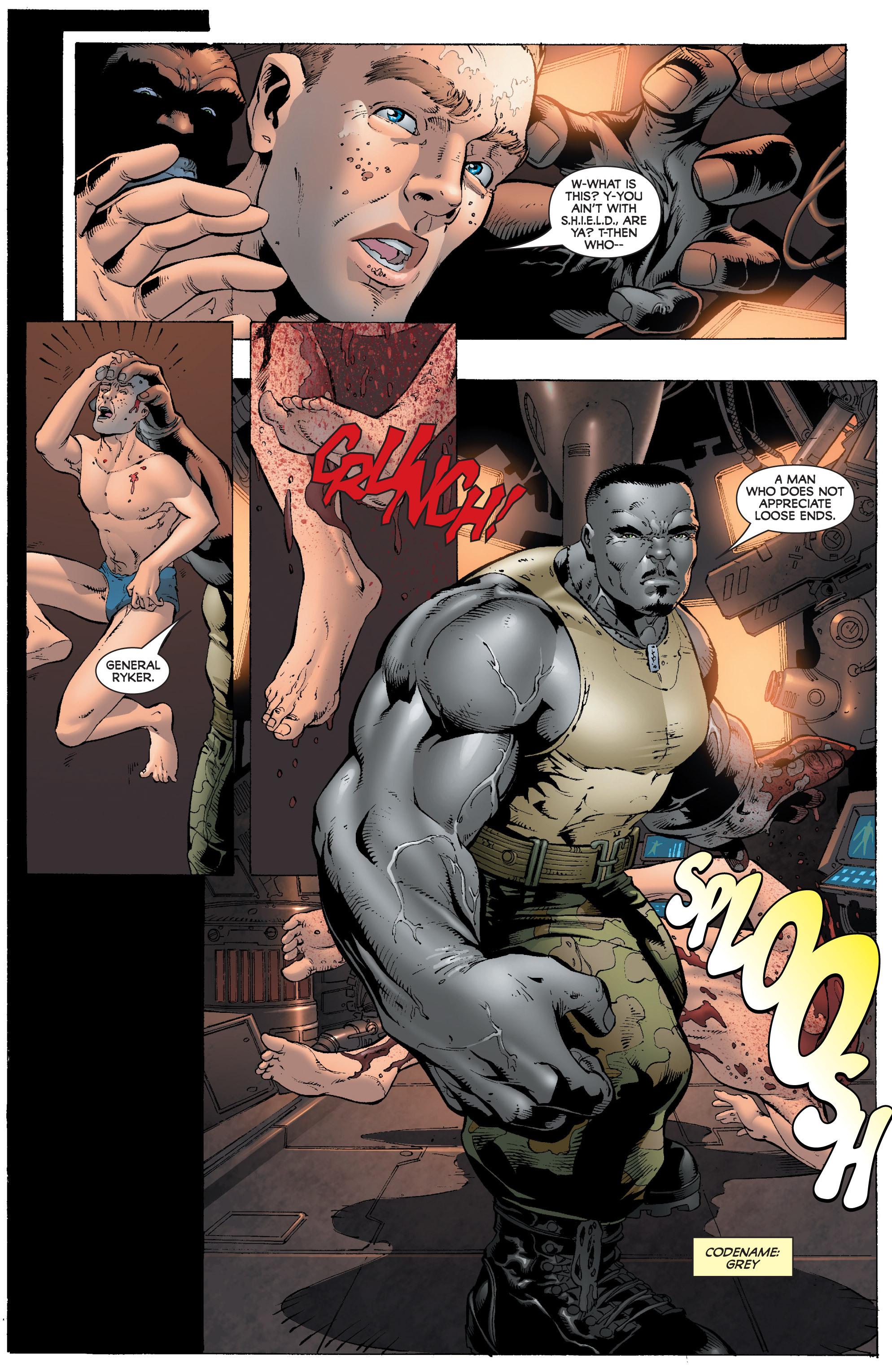 Read online World War Hulk: Gamma Corps comic -  Issue #1 - 22