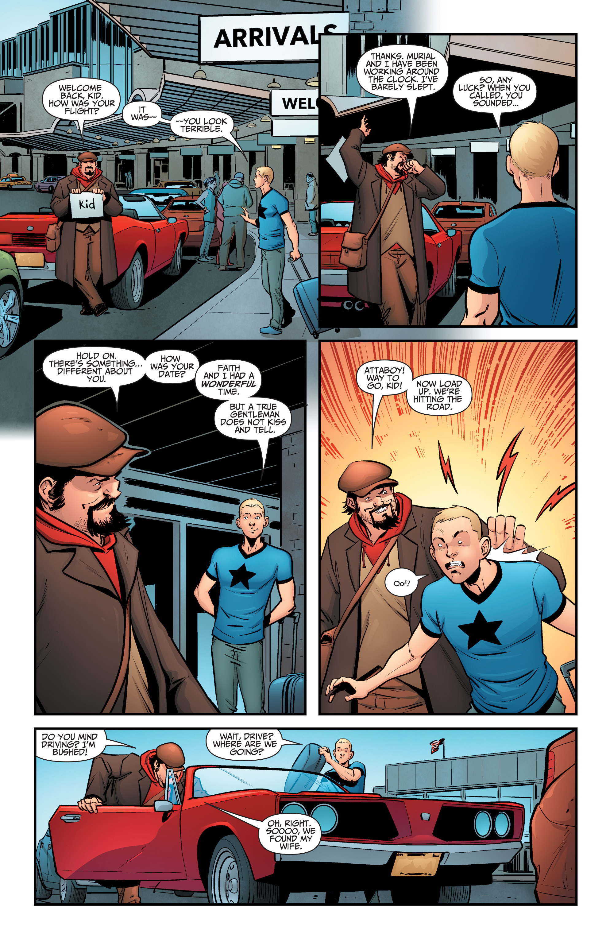 Read online A&A: The Adventures of Archer & Armstrong comic -  Issue #5 - 22