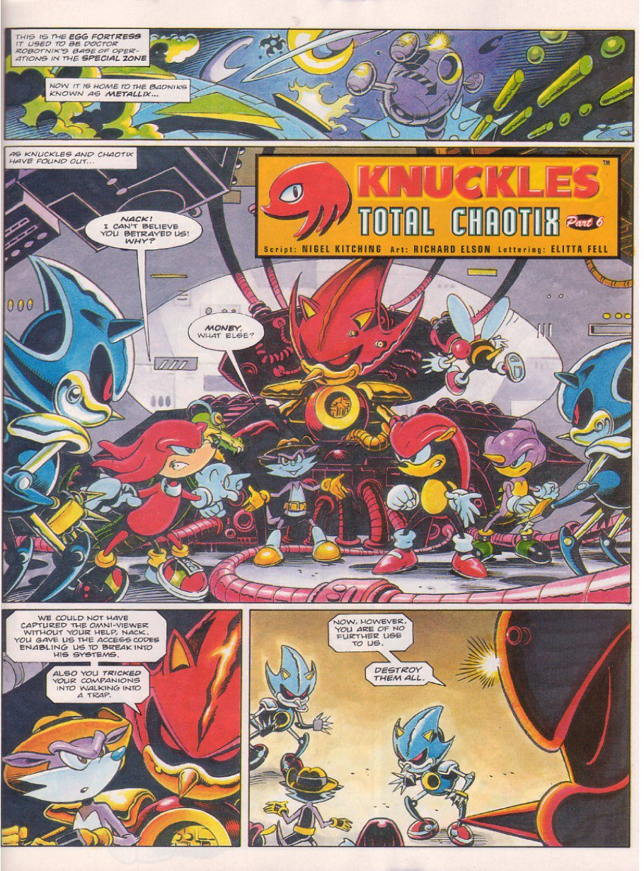 Read online Sonic the Comic comic -  Issue #58 - 18