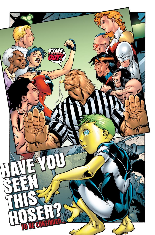 Read online Alpha Flight (2004) comic -  Issue #4 - 23