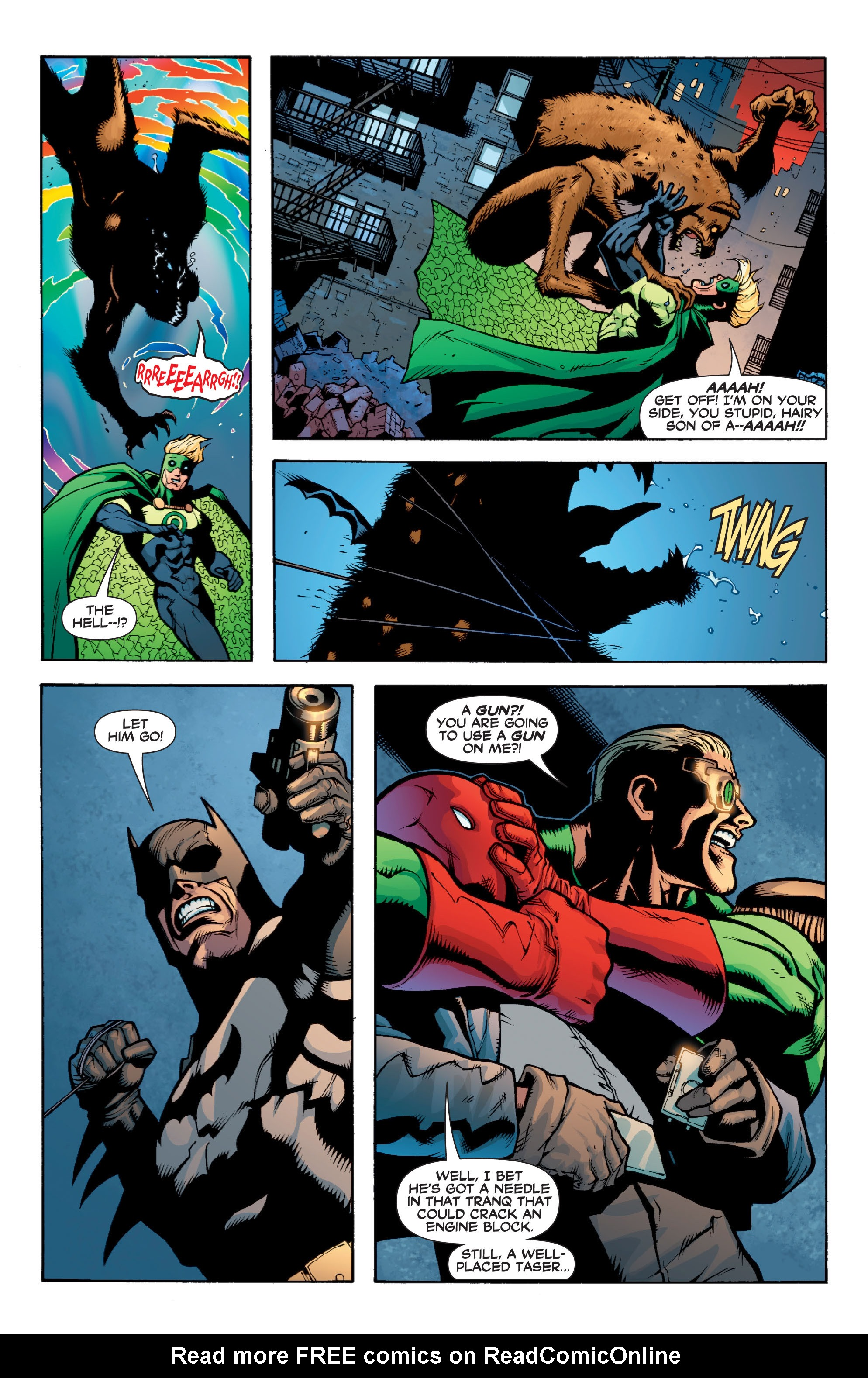 Read online Batman: Under The Red Hood comic -  Issue # Full - 242