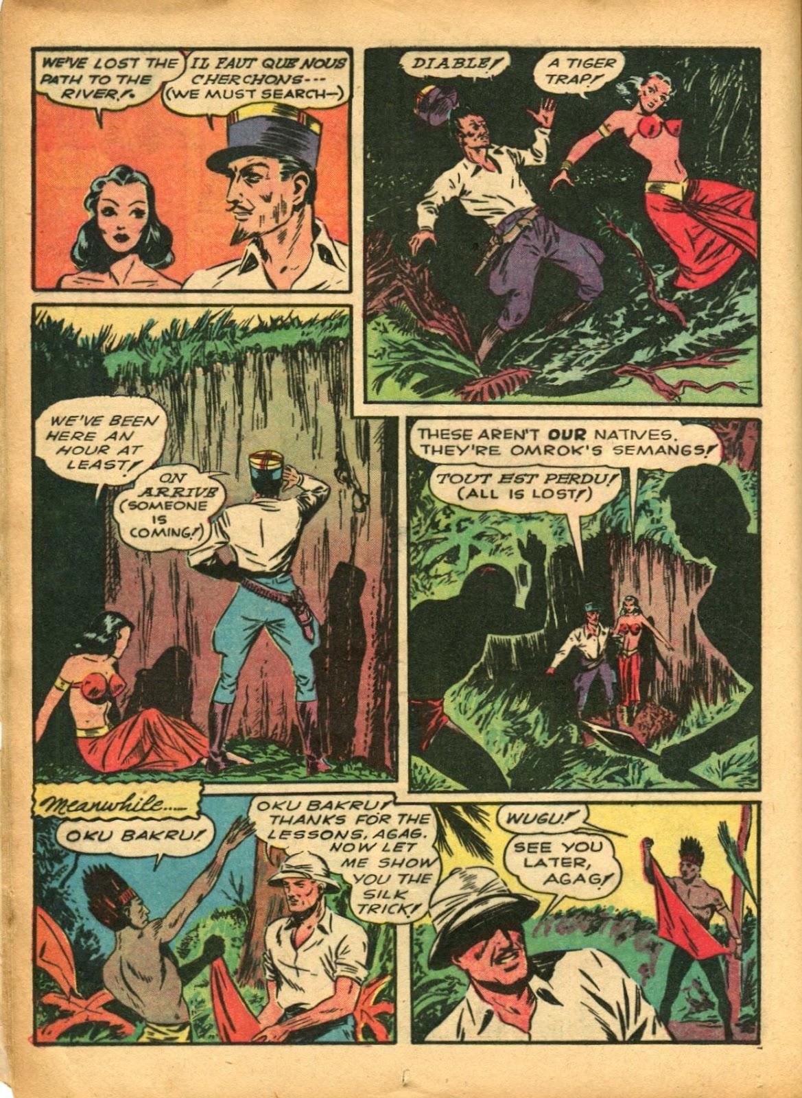 Read online Super-Magician Comics comic -  Issue #5 - 28
