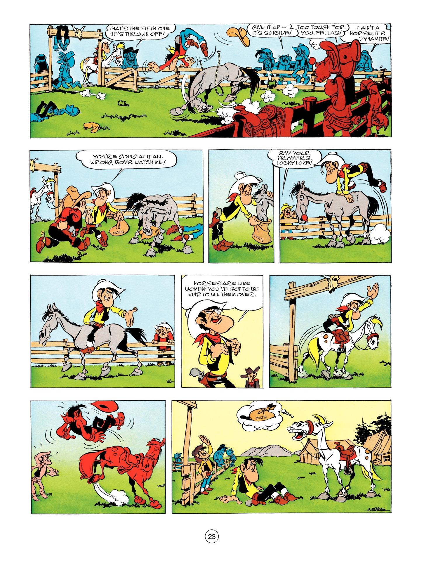 Read online A Lucky Luke Adventure comic -  Issue #55 - 23