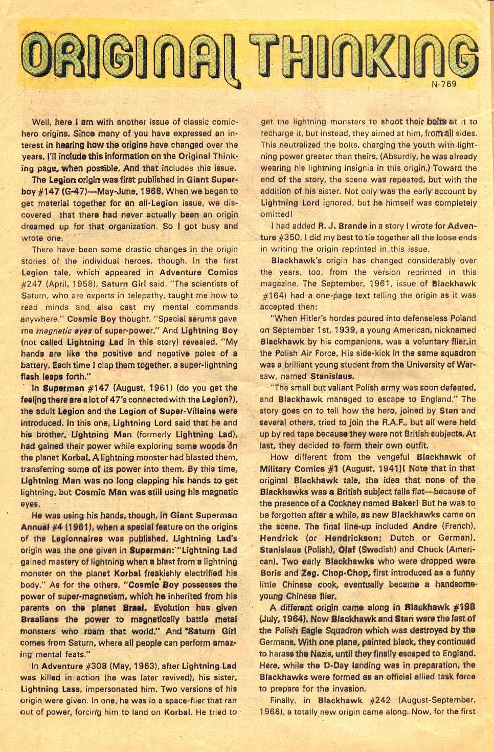 Read online Secret Origins (1973) comic -  Issue #6 - 32