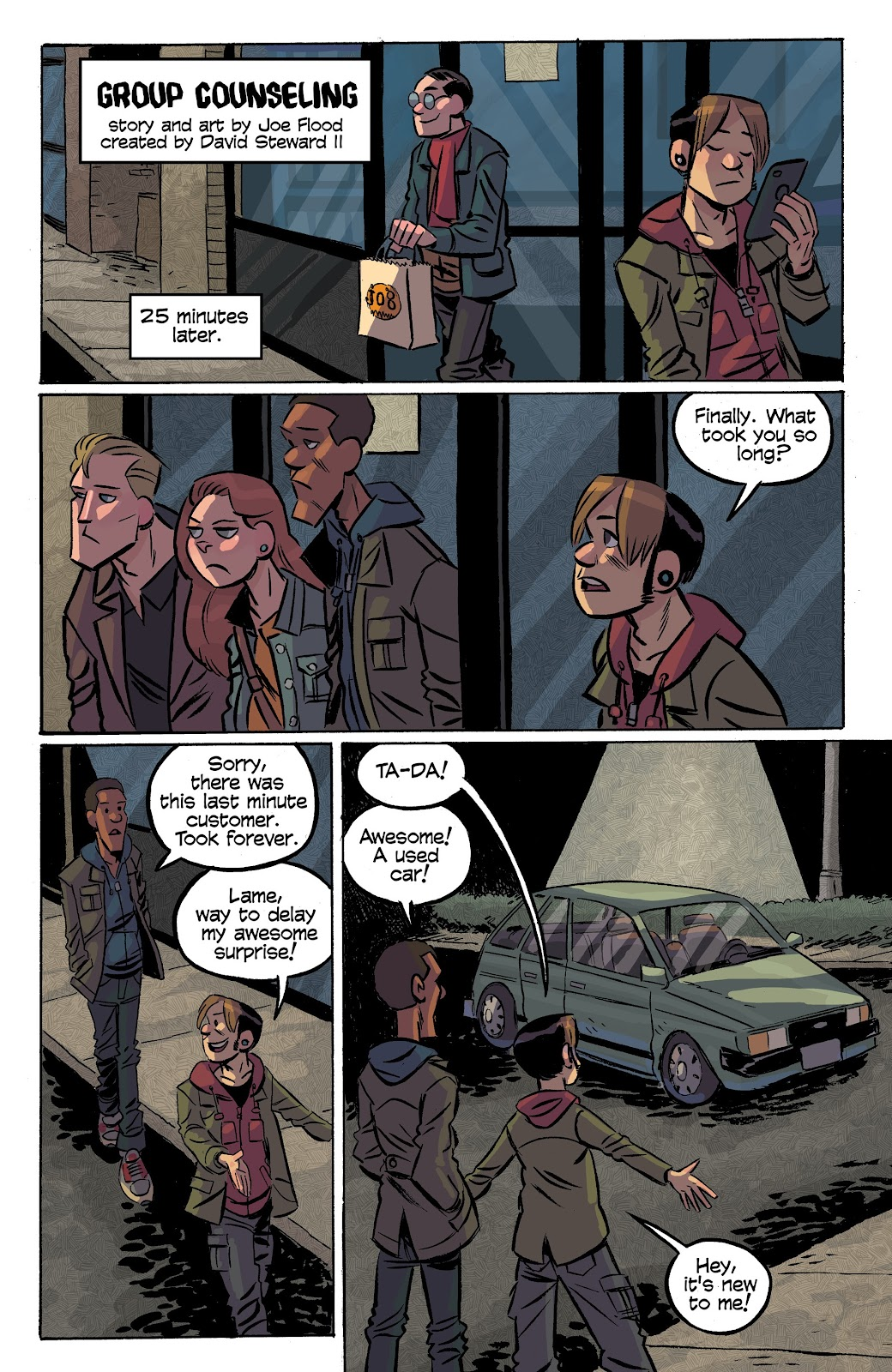 Read online Cellies comic -  Issue #7 - 5