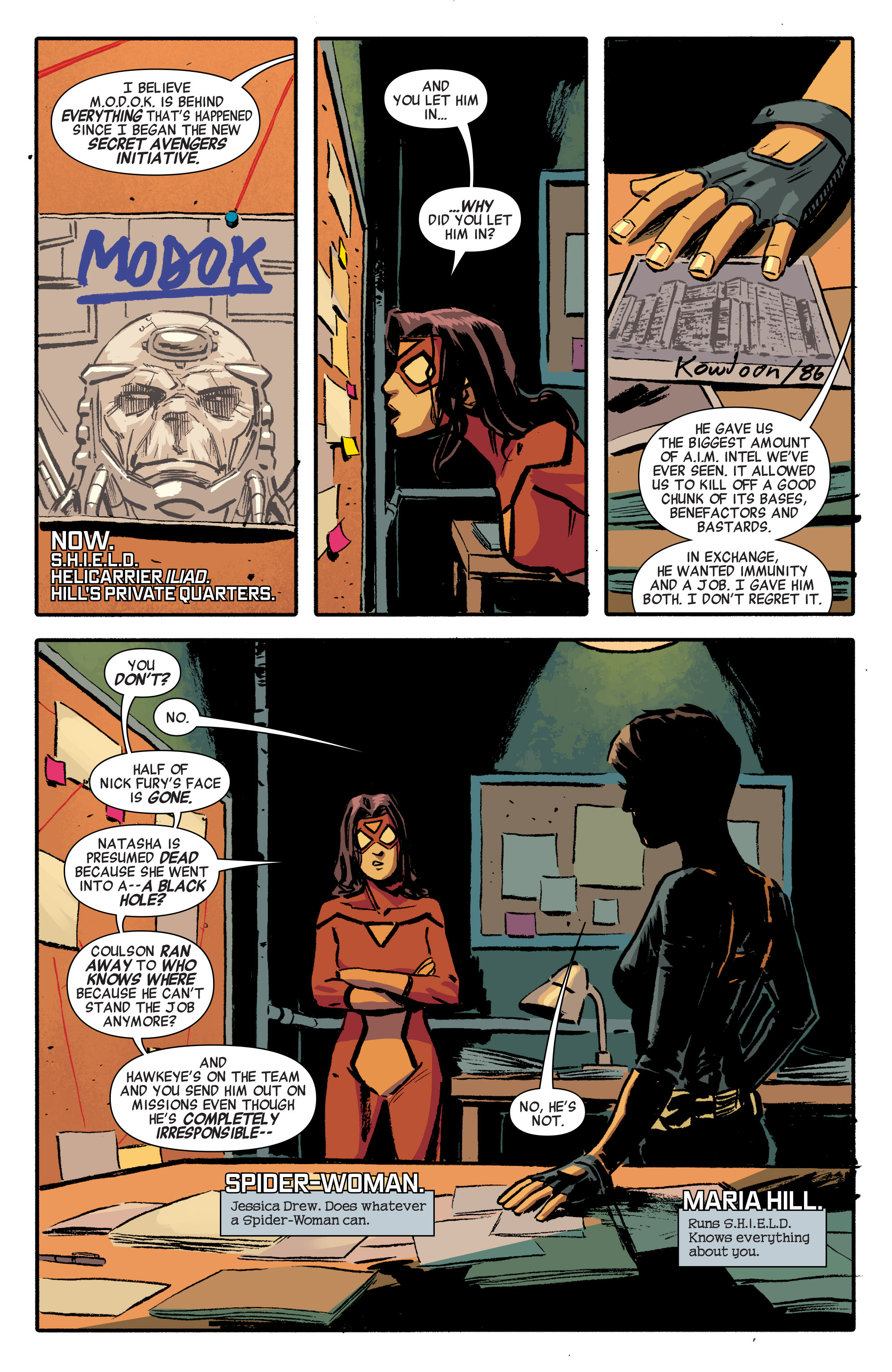 Read online Secret Avengers (2014) comic -  Issue #8 - 5