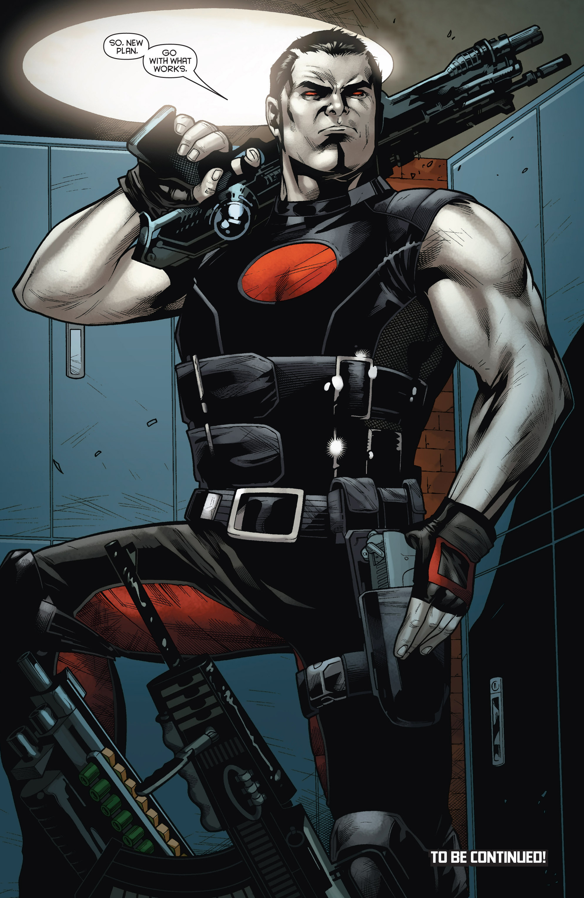 Read online Bloodshot and H.A.R.D.Corps comic -  Issue #15 - 24