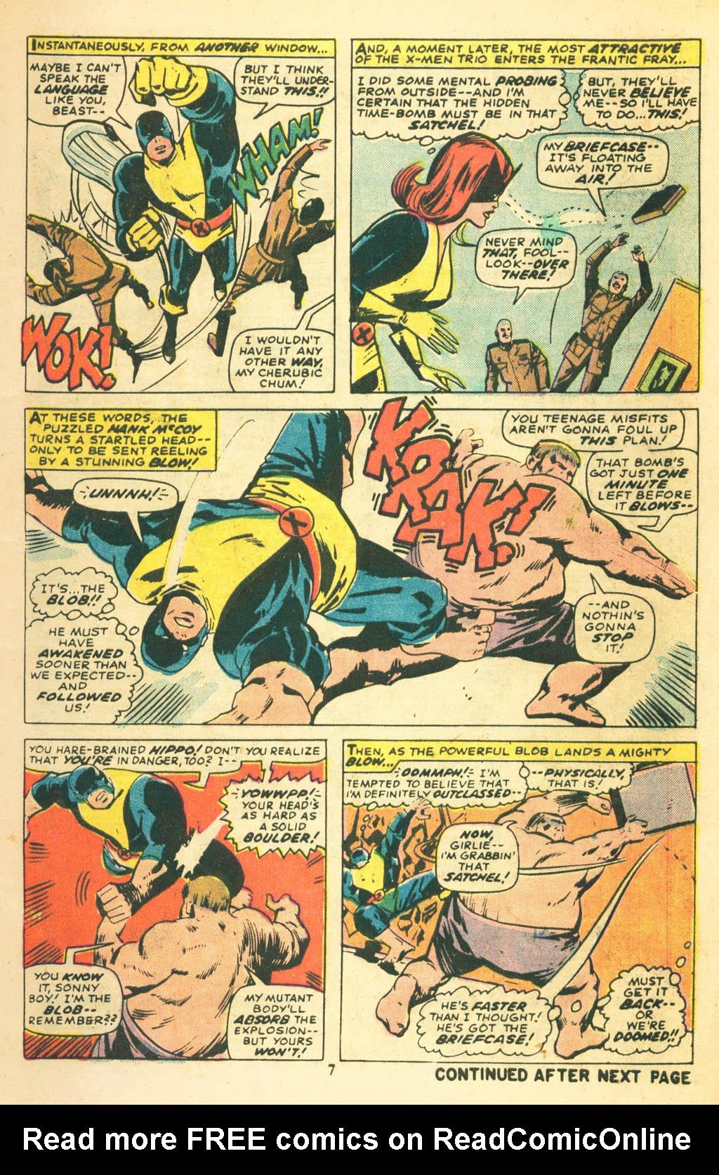 Read online Uncanny X-Men (1963) comic -  Issue #87 - 9