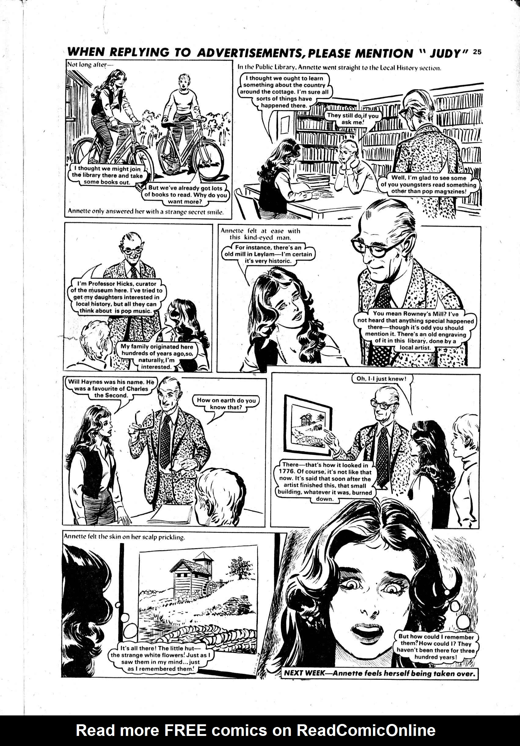 Read online Judy comic -  Issue #983 - 25