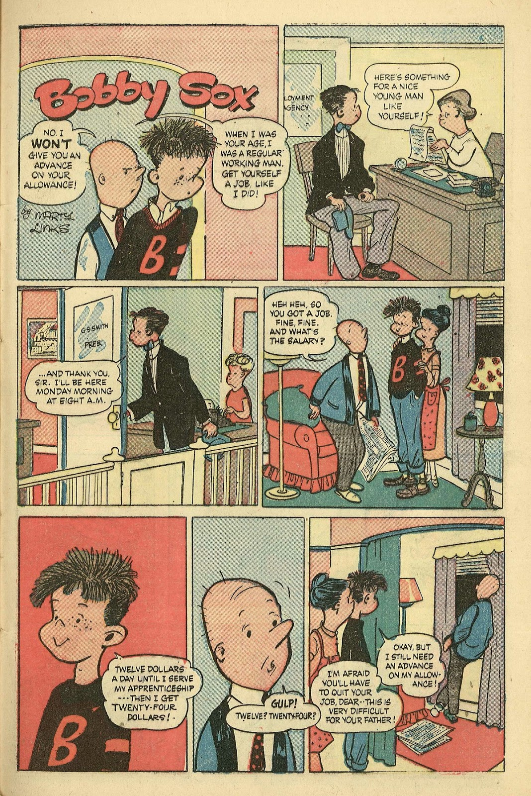Read online Famous Funnies comic -  Issue #198 - 29
