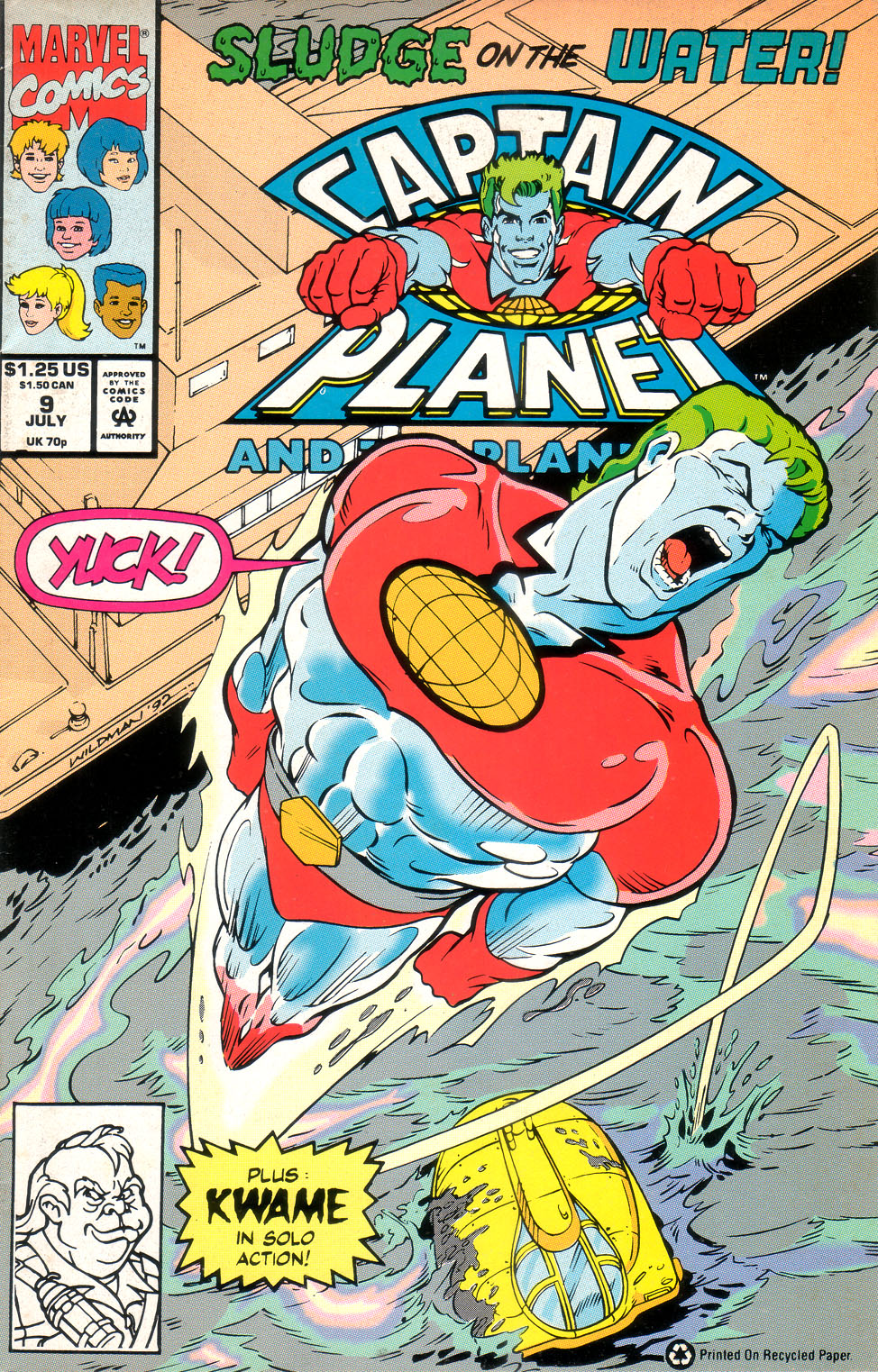 Captain Planet and the Planeteers 9 Page 1