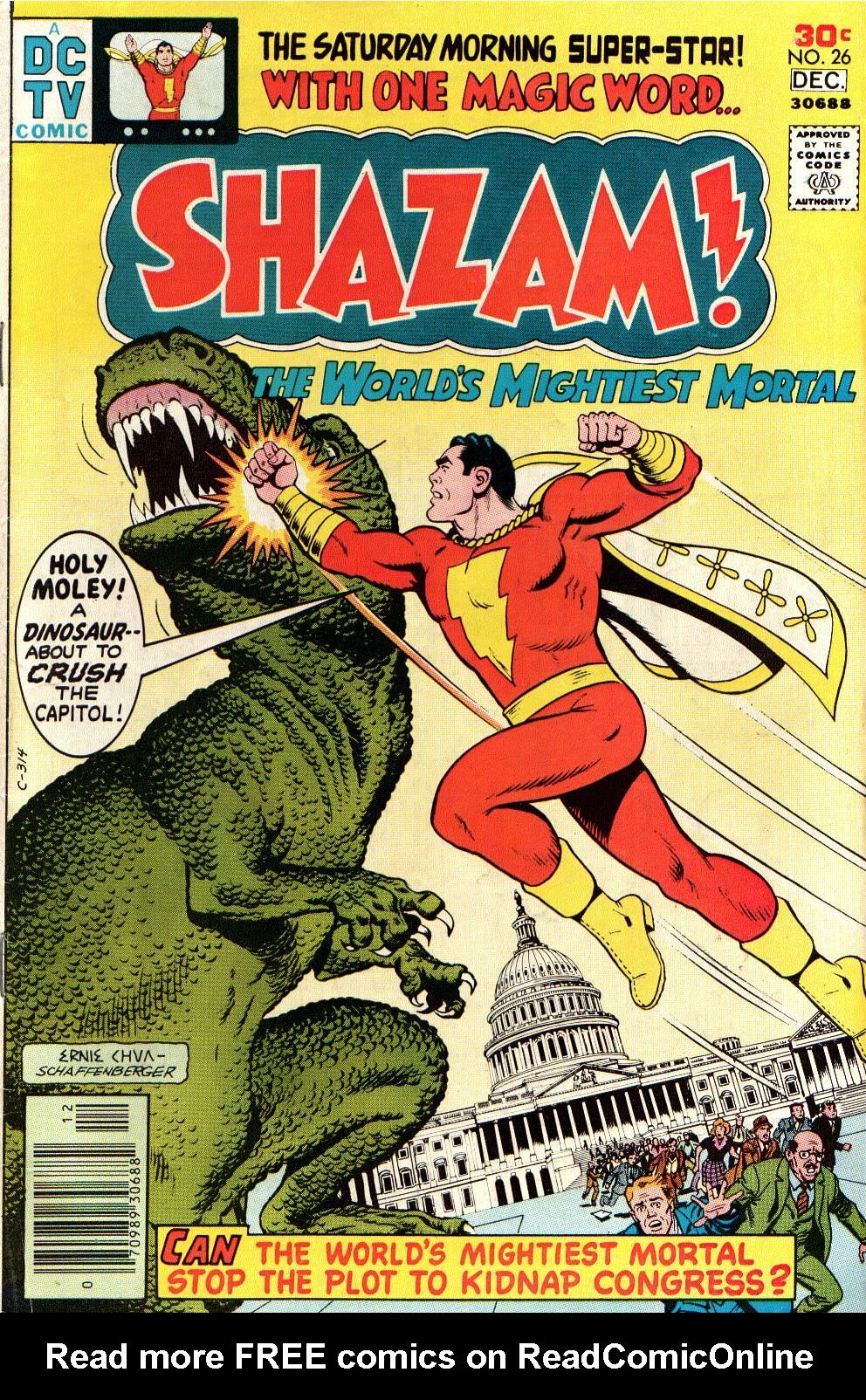Read online Shazam! (1973) comic -  Issue #26 - 1
