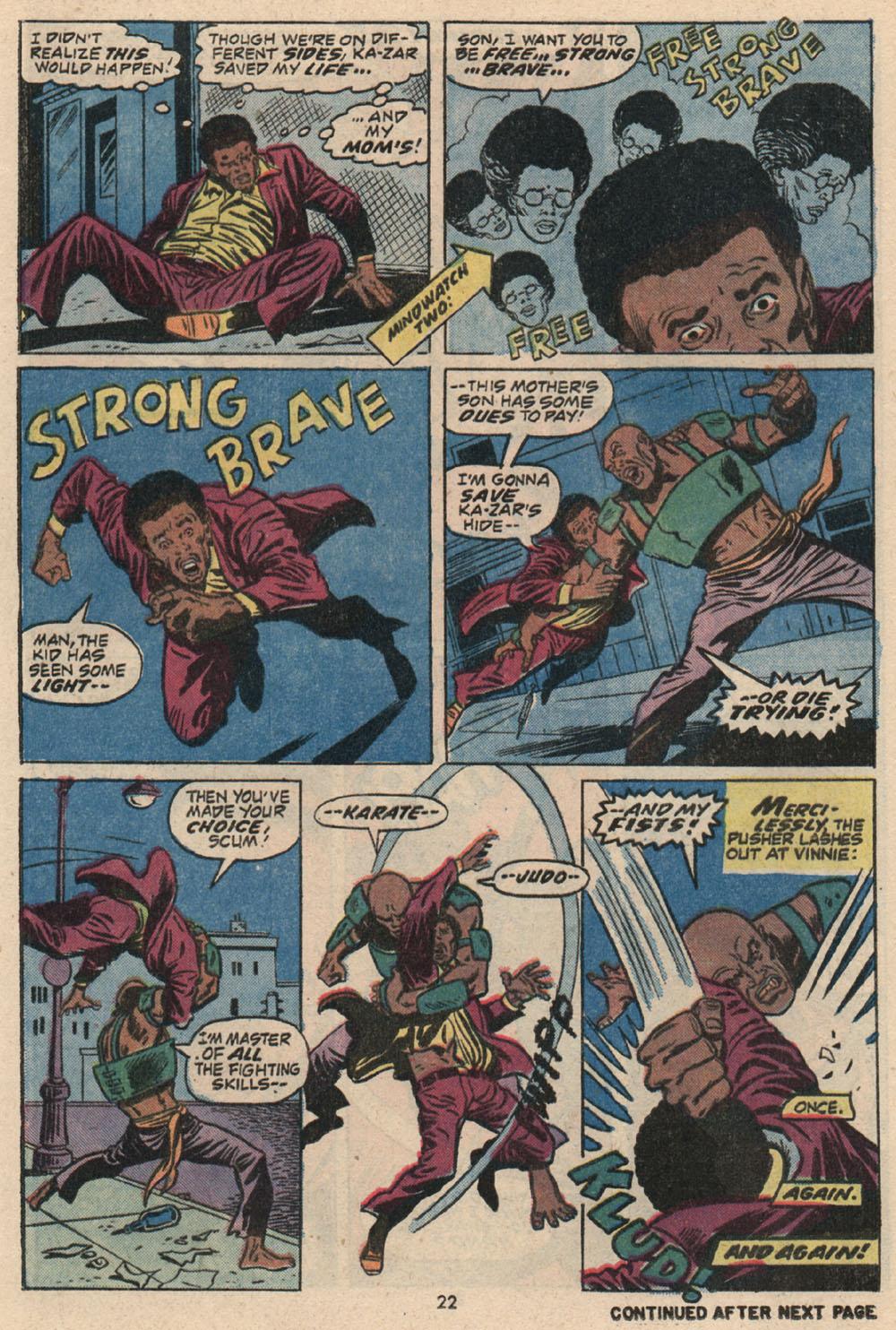Read online Astonishing Tales (1970) comic -  Issue #16 - 16