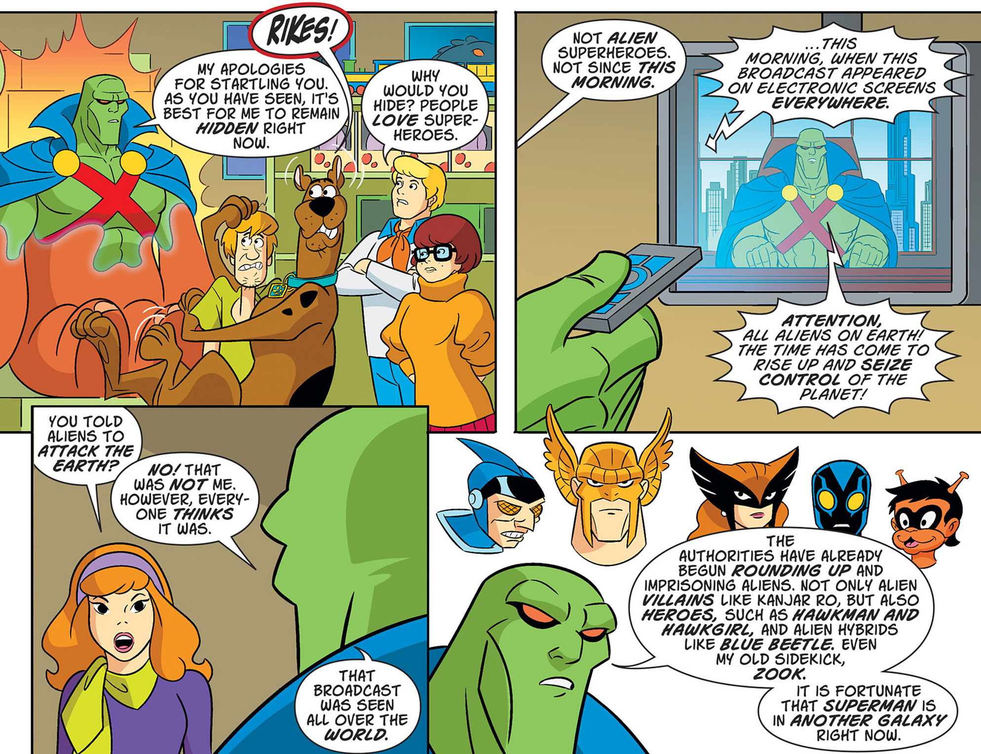 Read online Scooby-Doo! Team-Up comic -  Issue #47 - 13