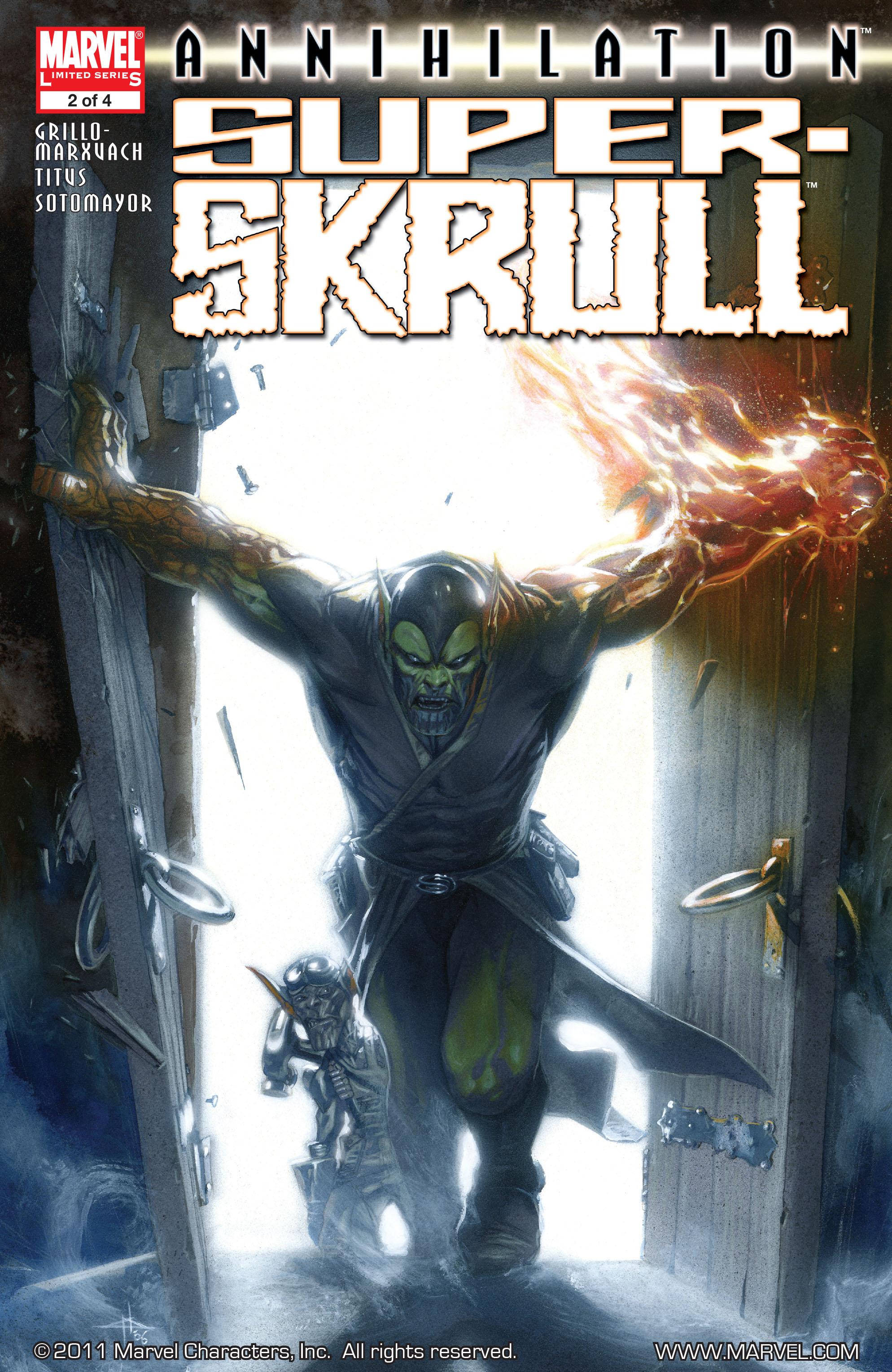 Read online Annihilation: Super-Skrull comic -  Issue #2 - 1