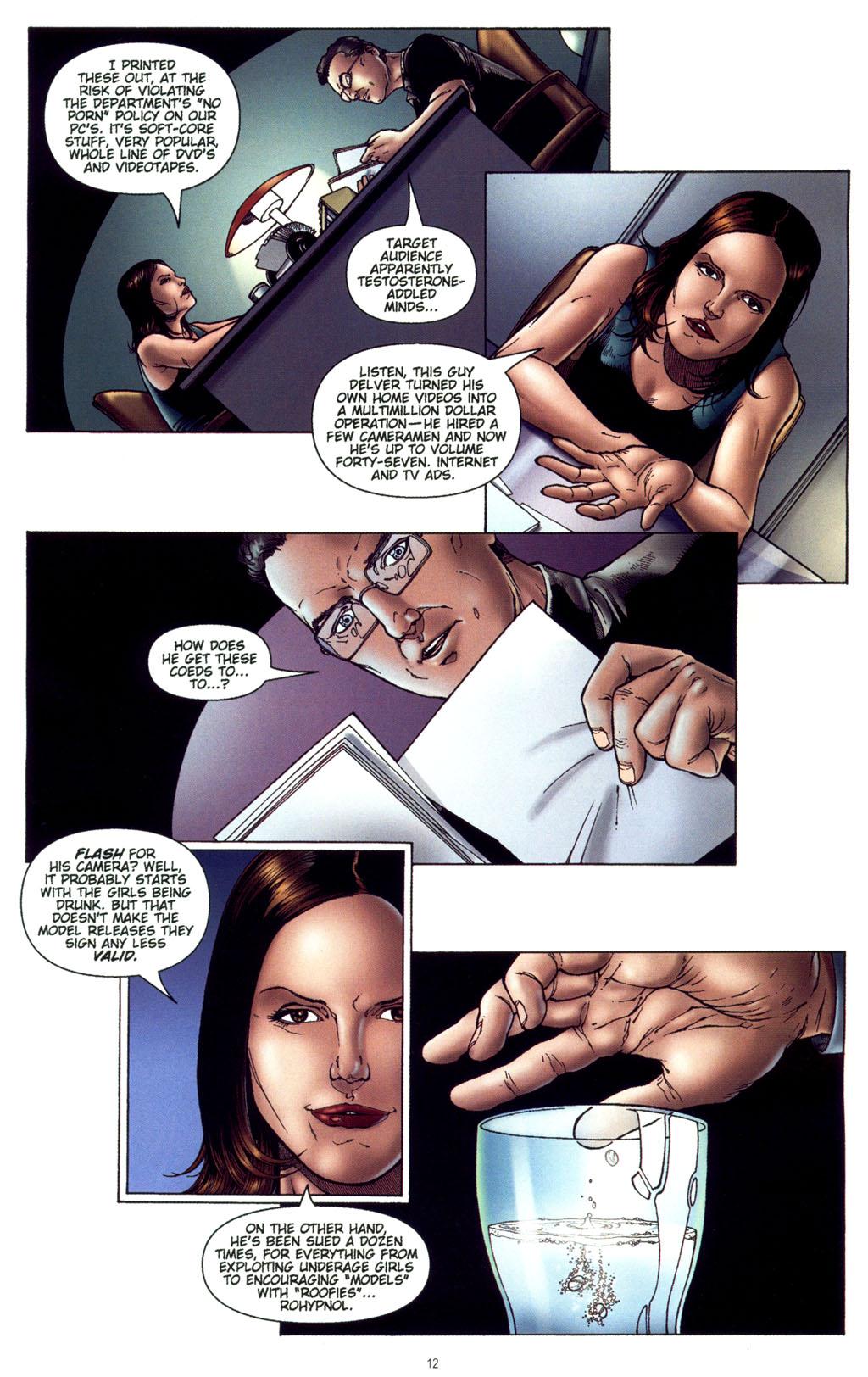 Read online CSI: Crime Scene Investigation: Bad Rap comic -  Issue #4 - 13