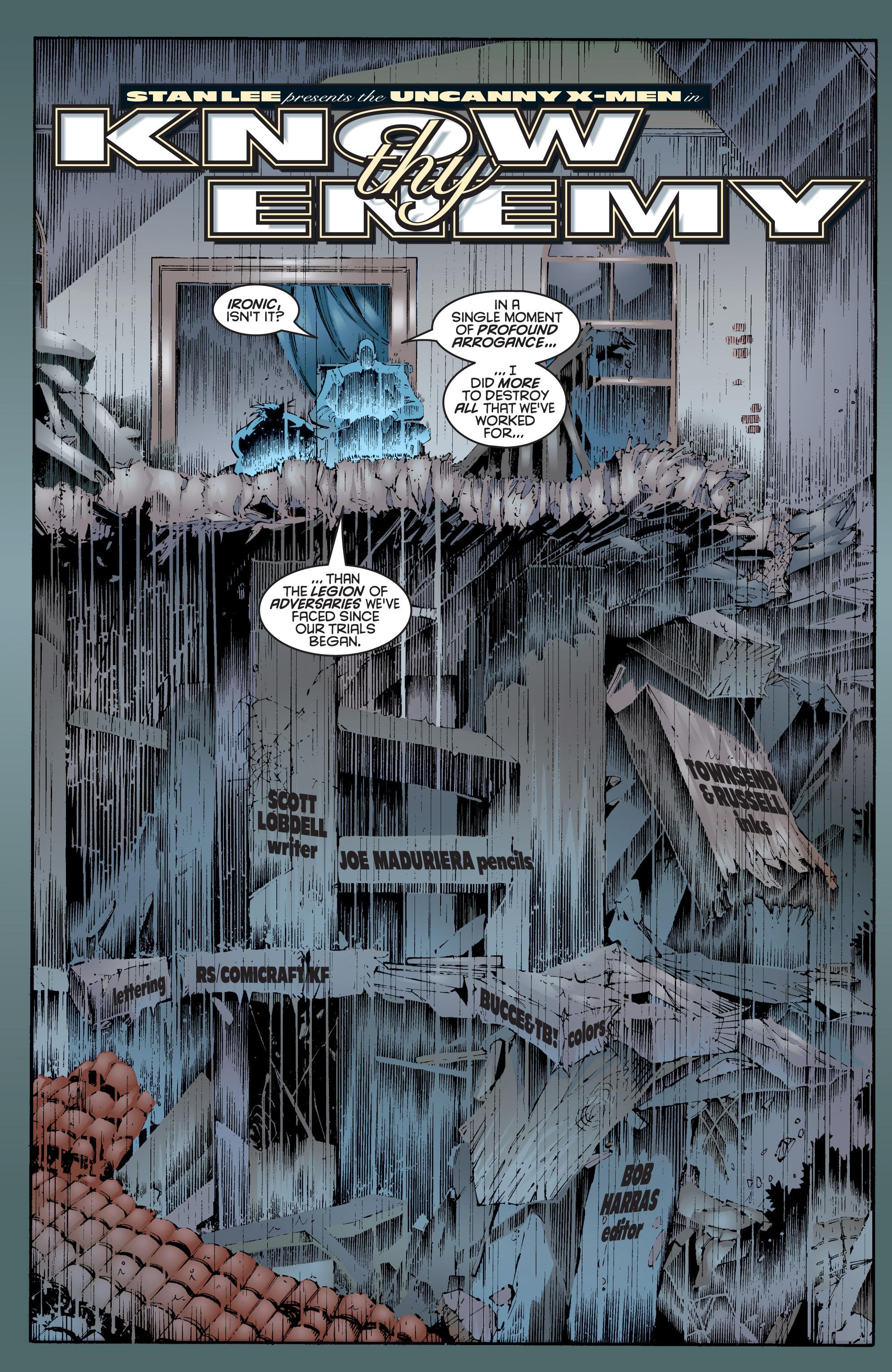 Read online Uncanny X-Men (1963) comic -  Issue #337 - 4