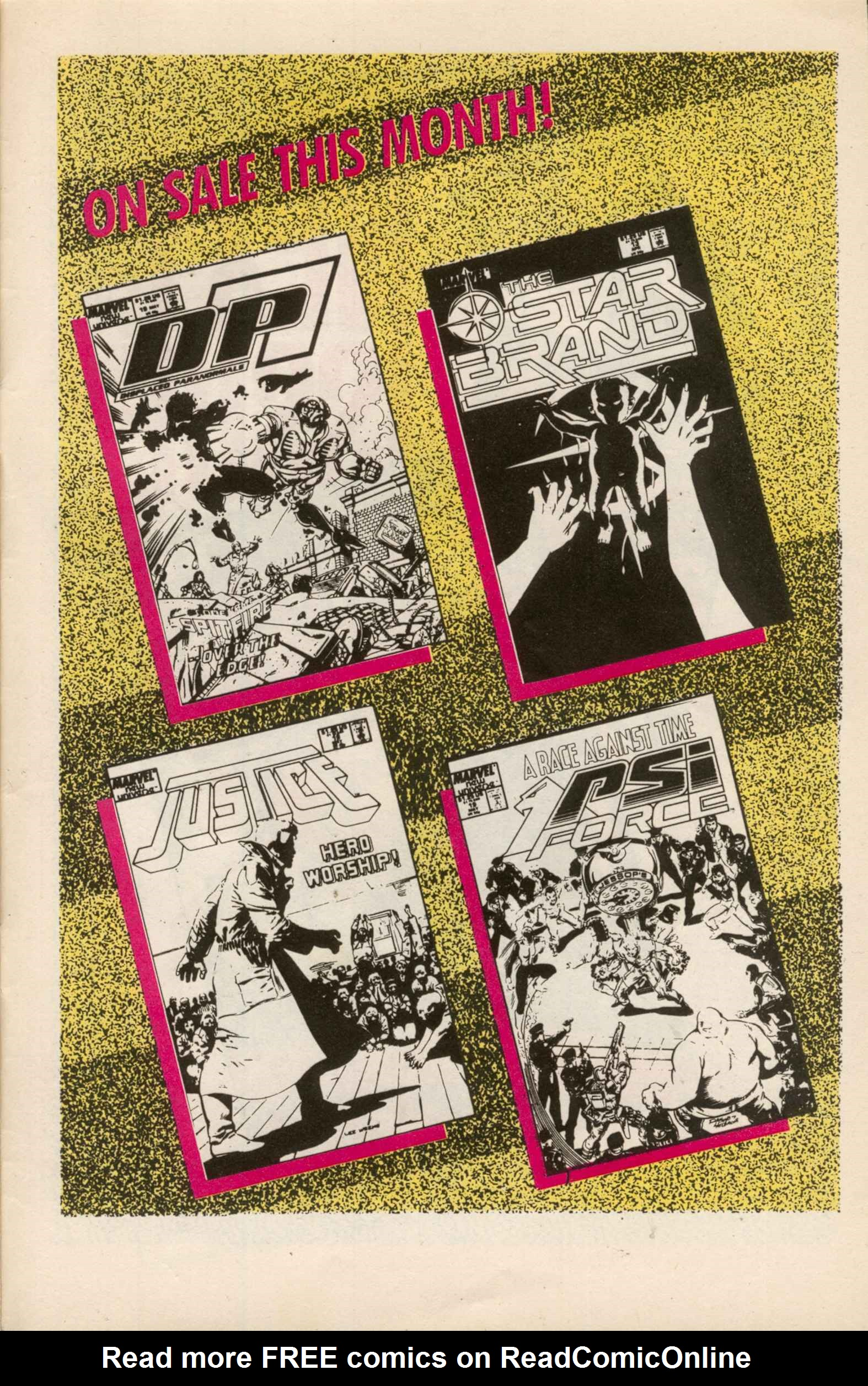 Read online Star Brand comic -  Issue #13 - 31