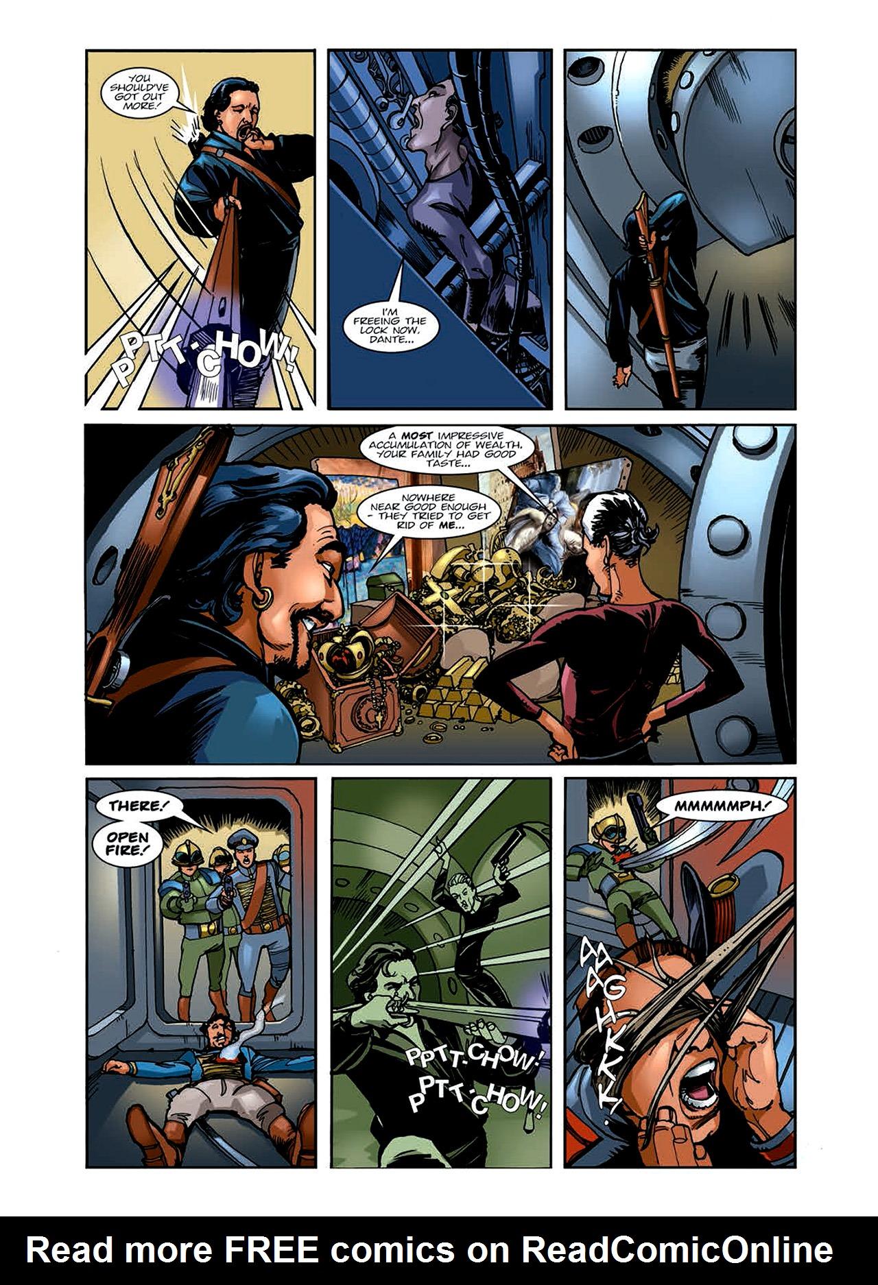 Read online Nikolai Dante comic -  Issue # TPB 6 - 53