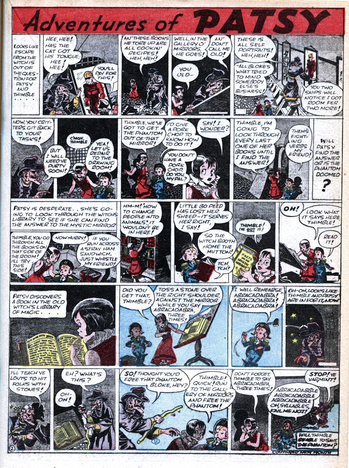 Read online Famous Funnies comic -  Issue #36 - 31