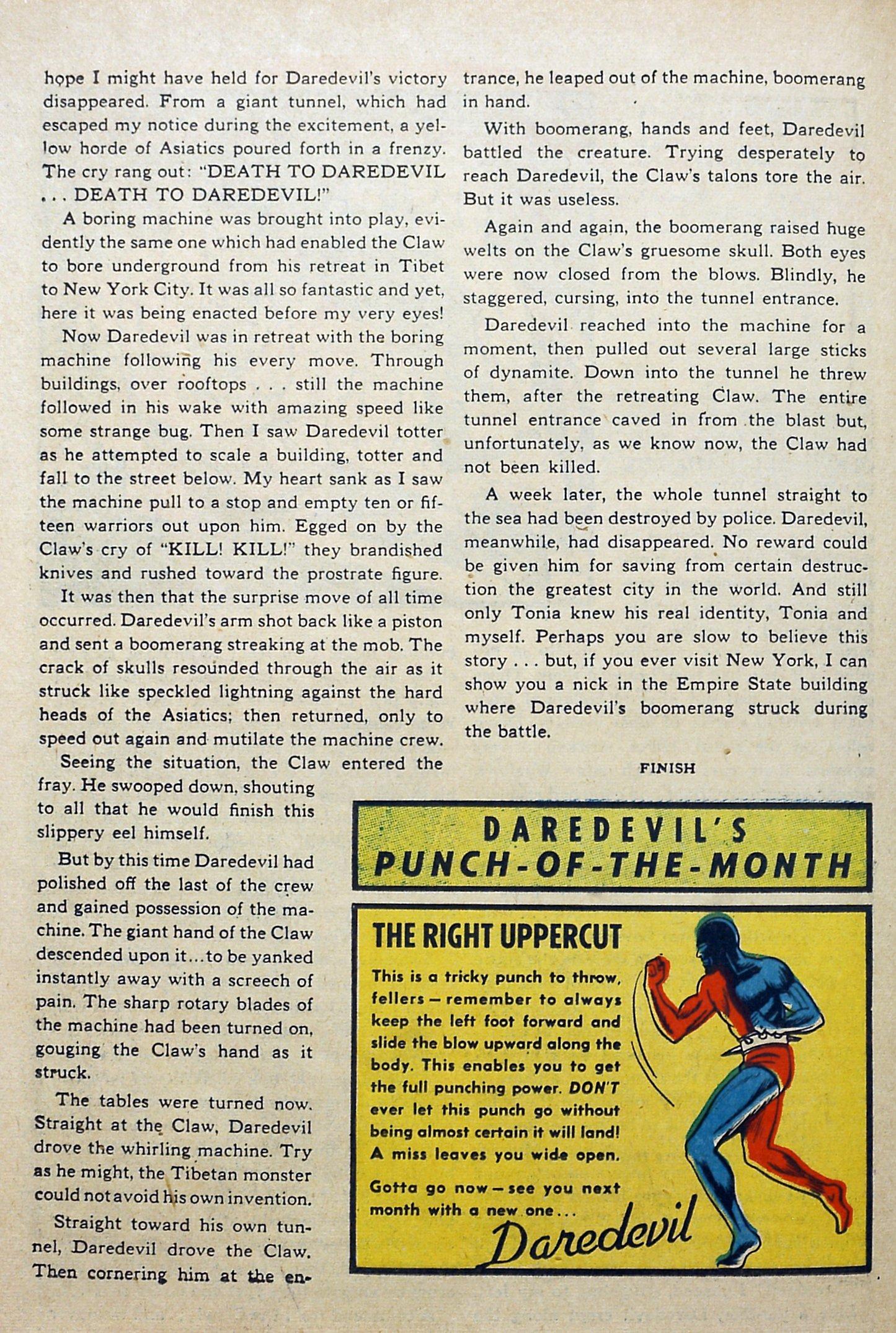 Daredevil (1941) issue 3 - Page 48