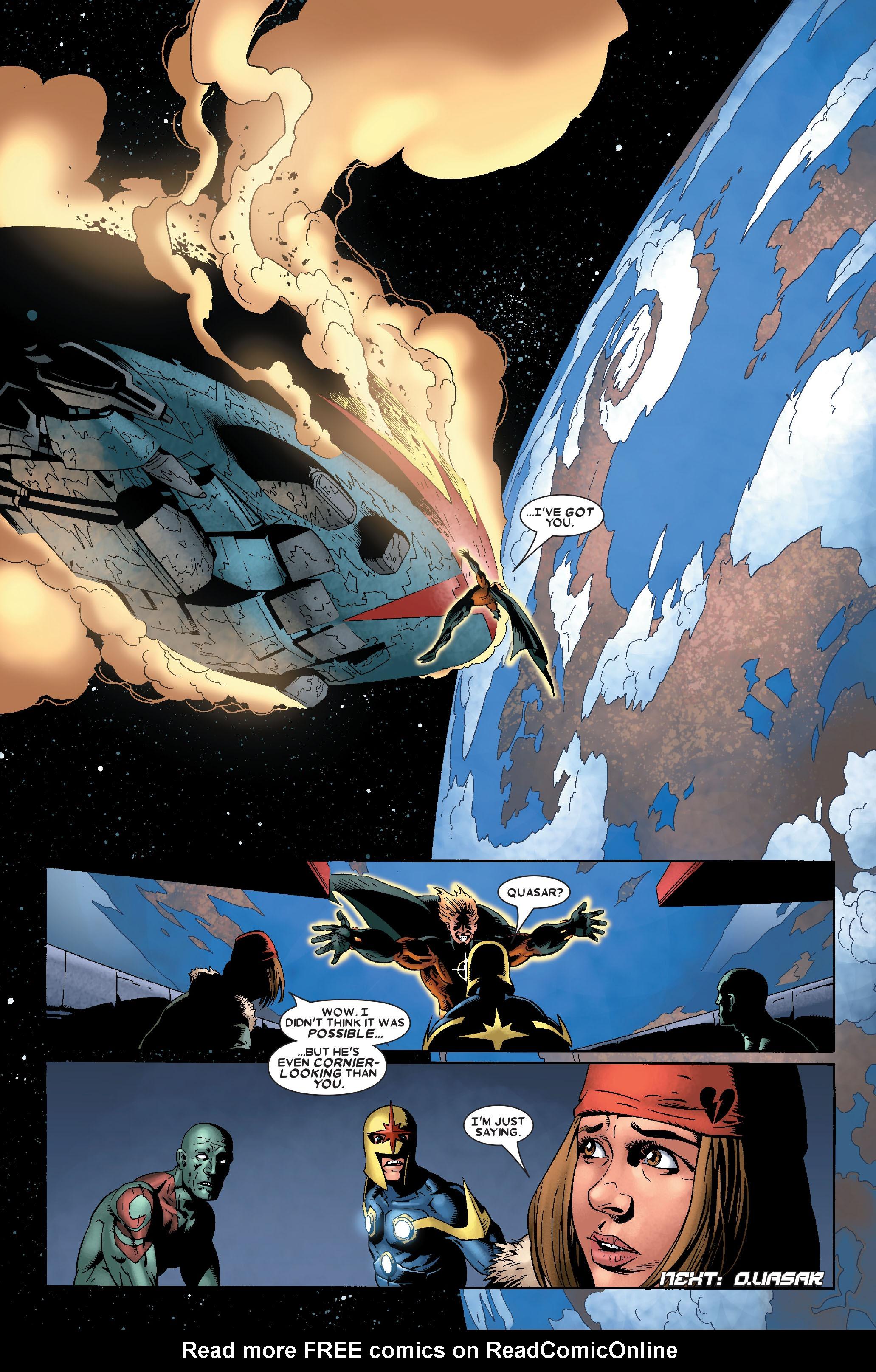 Read online Annihilation: Nova comic -  Issue #2 - 23