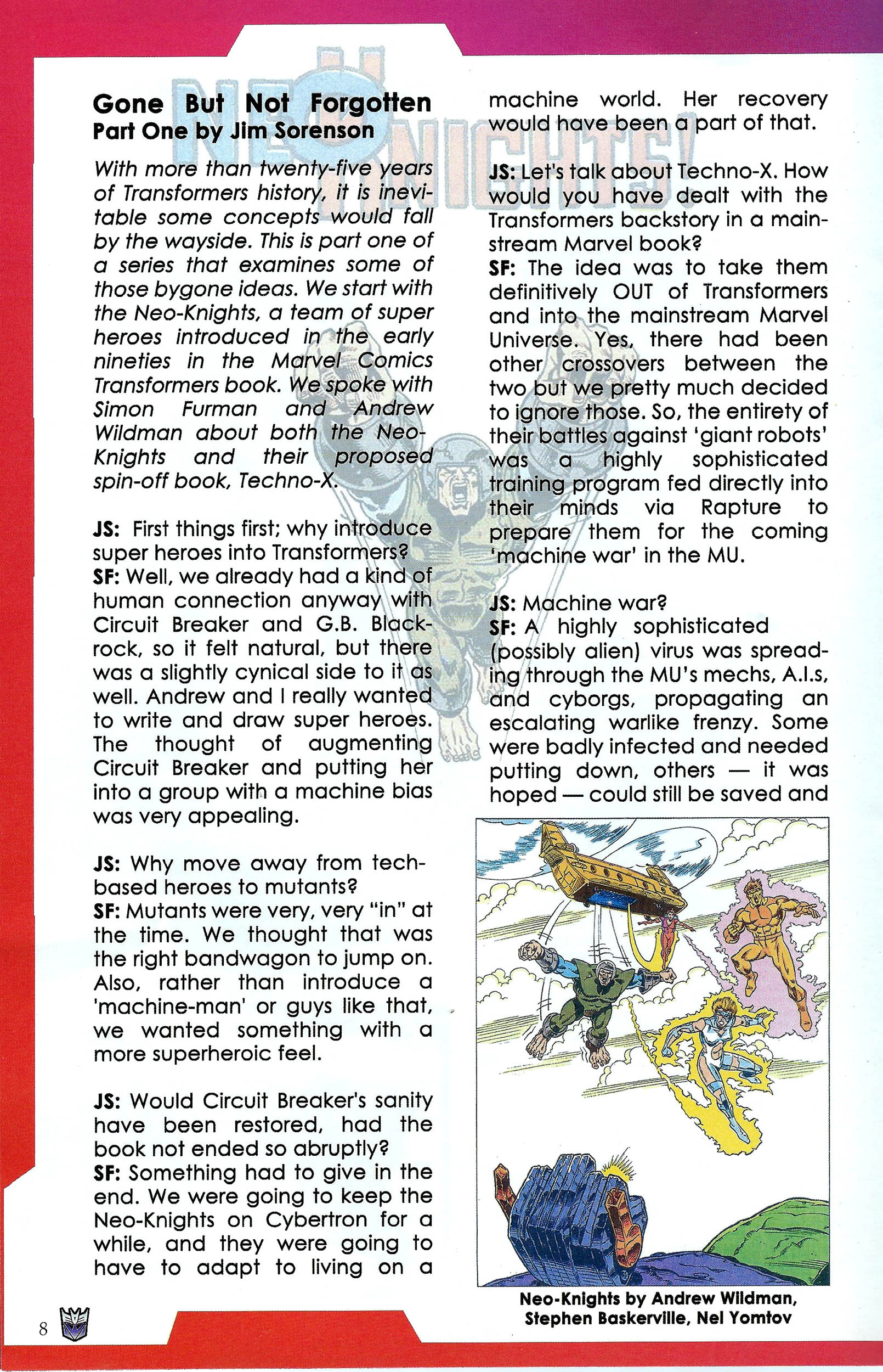 Read online Transformers: Collectors' Club comic -  Issue #41 - 8