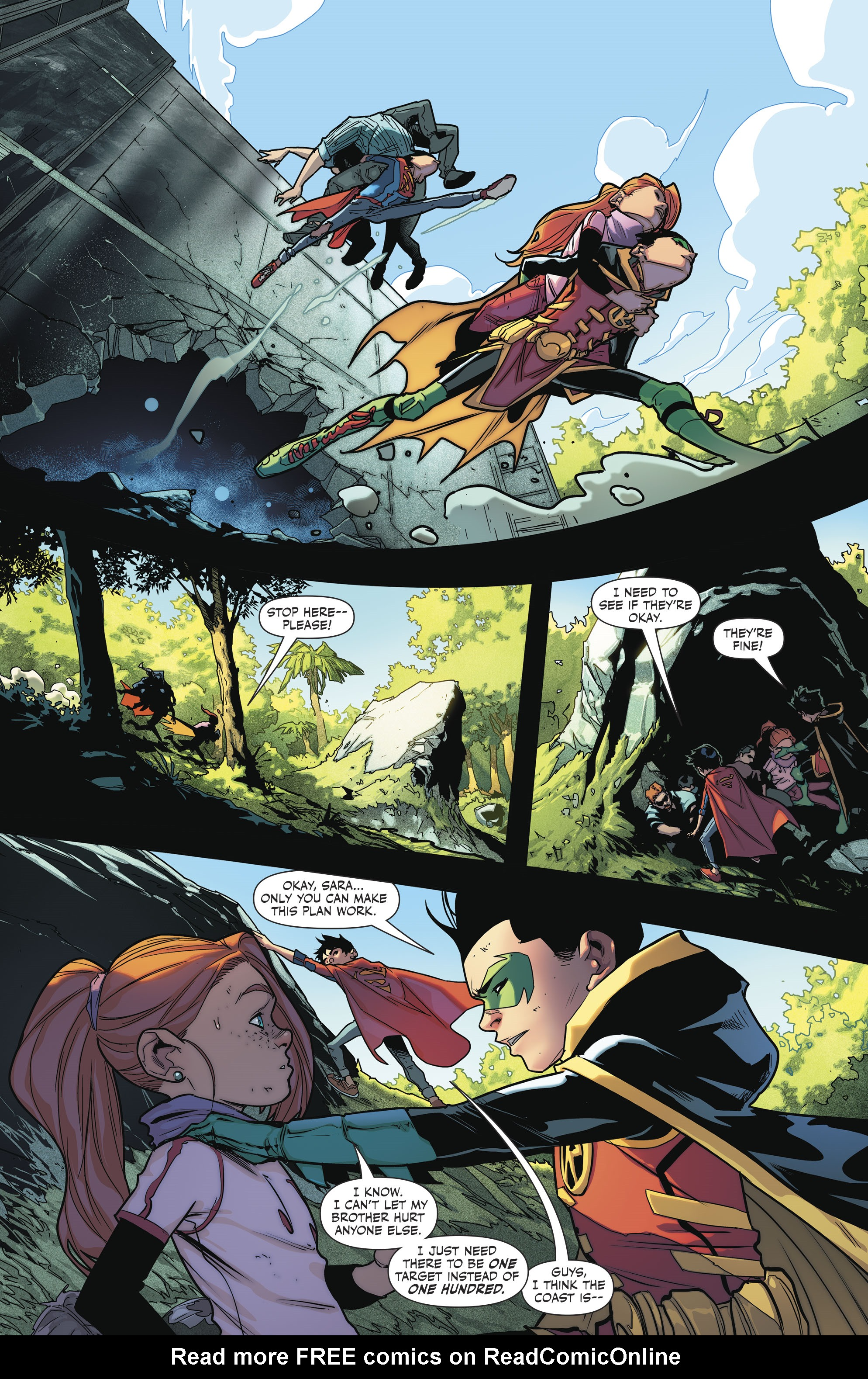 Read online Super Sons comic -  Issue #4 - 14