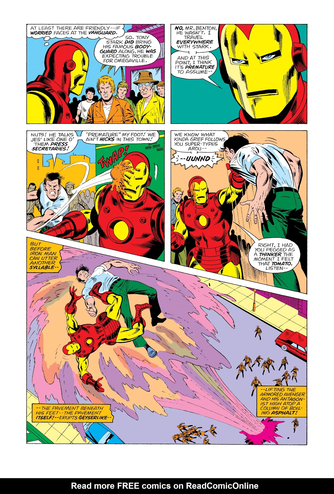 Read online Marvel Masterworks: The Invincible Iron Man comic -  Issue # TPB 11 (Part 2) - 32