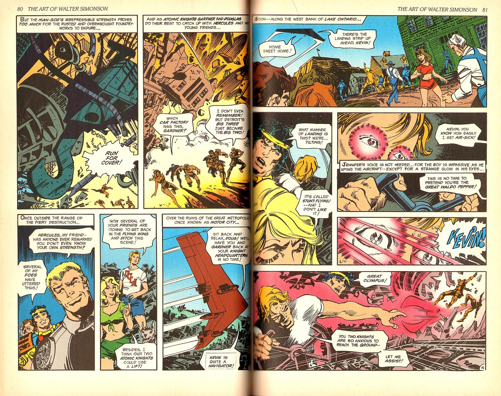 Read online The Art of Walter Simonson comic -  Issue # TPB - 42