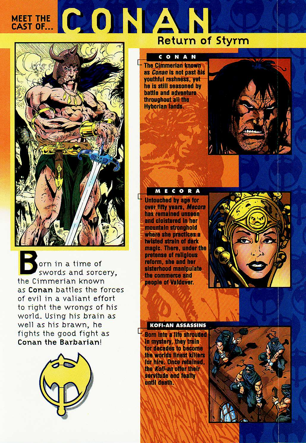 Read online Conan: Return of Styrm comic -  Issue #1 - 2