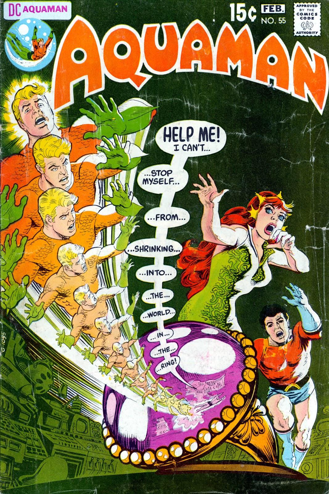Aquaman (1962) issue 55 - Page 1
