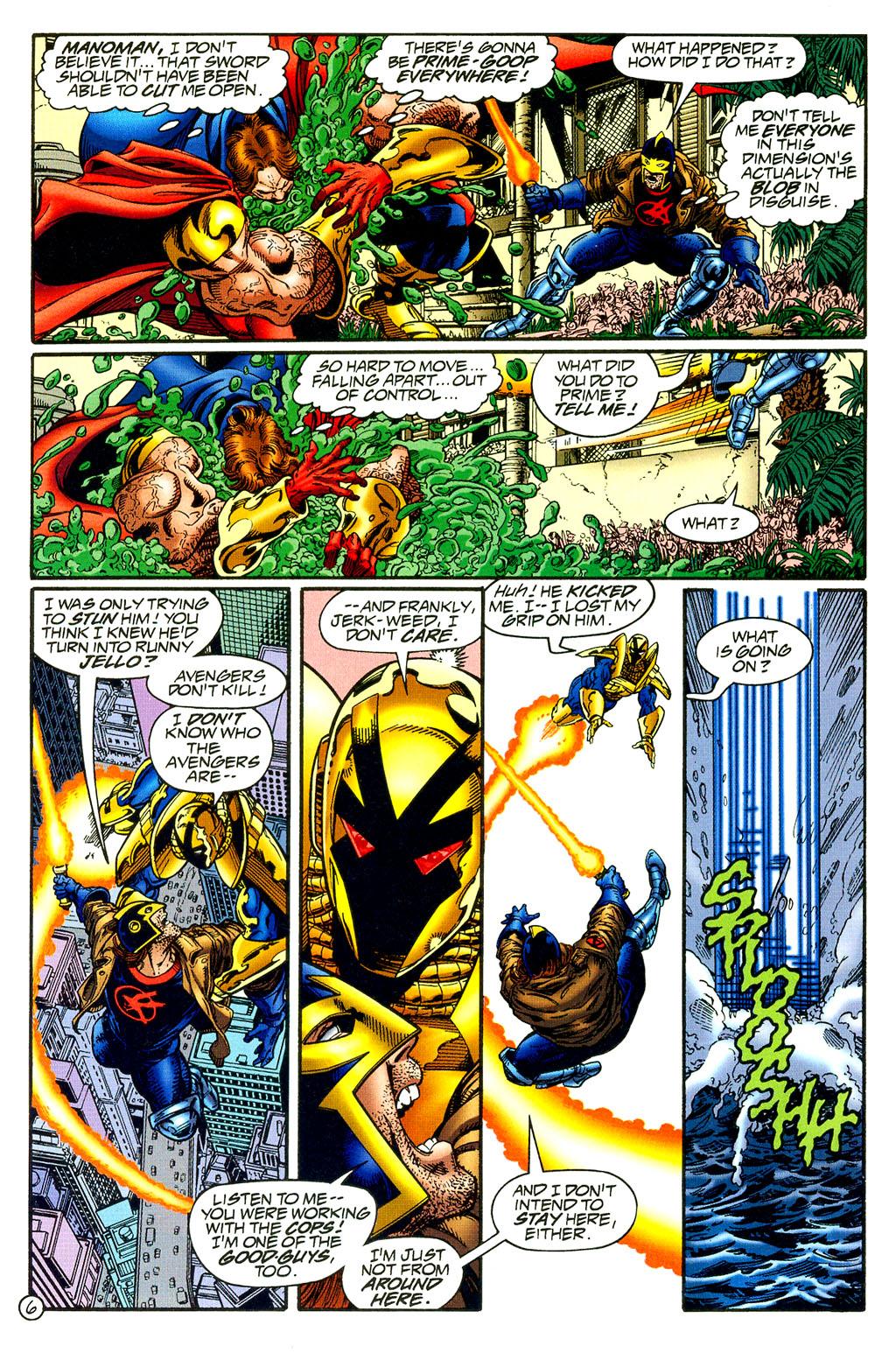 Read online UltraForce (1994) comic -  Issue #8 - 6
