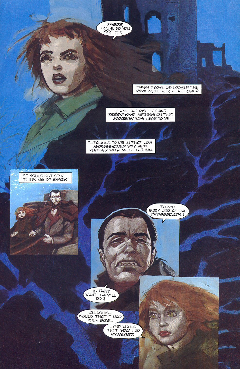 Read online Anne Rice's Interview with the Vampire comic -  Issue #7 - 6