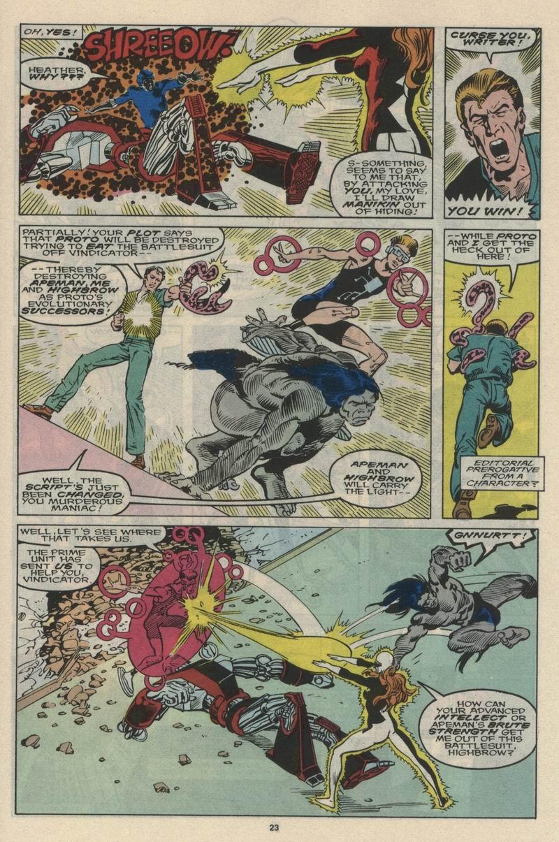 Read online Alpha Flight (1983) comic -  Issue #66 - 24
